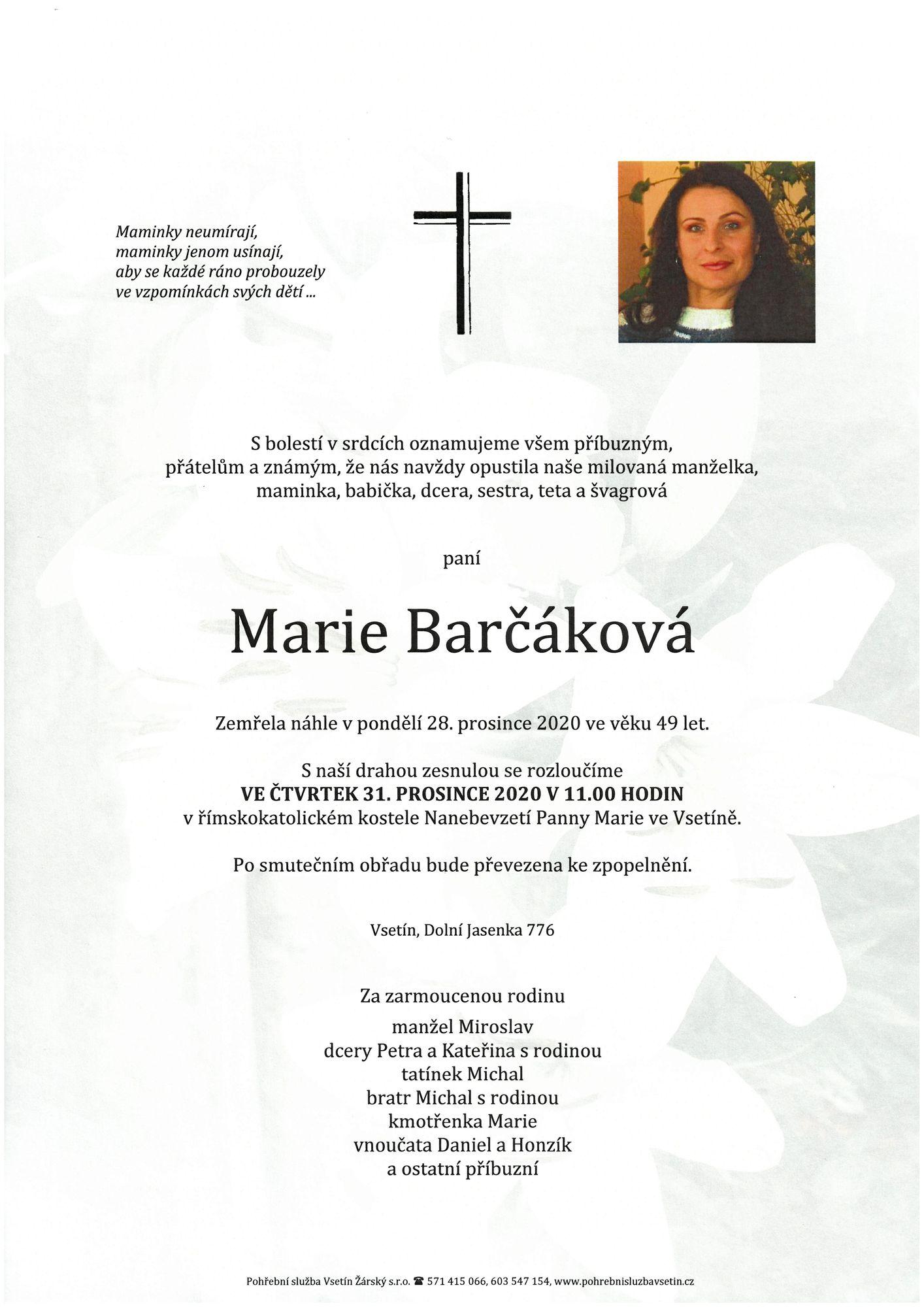Marie Barčáková