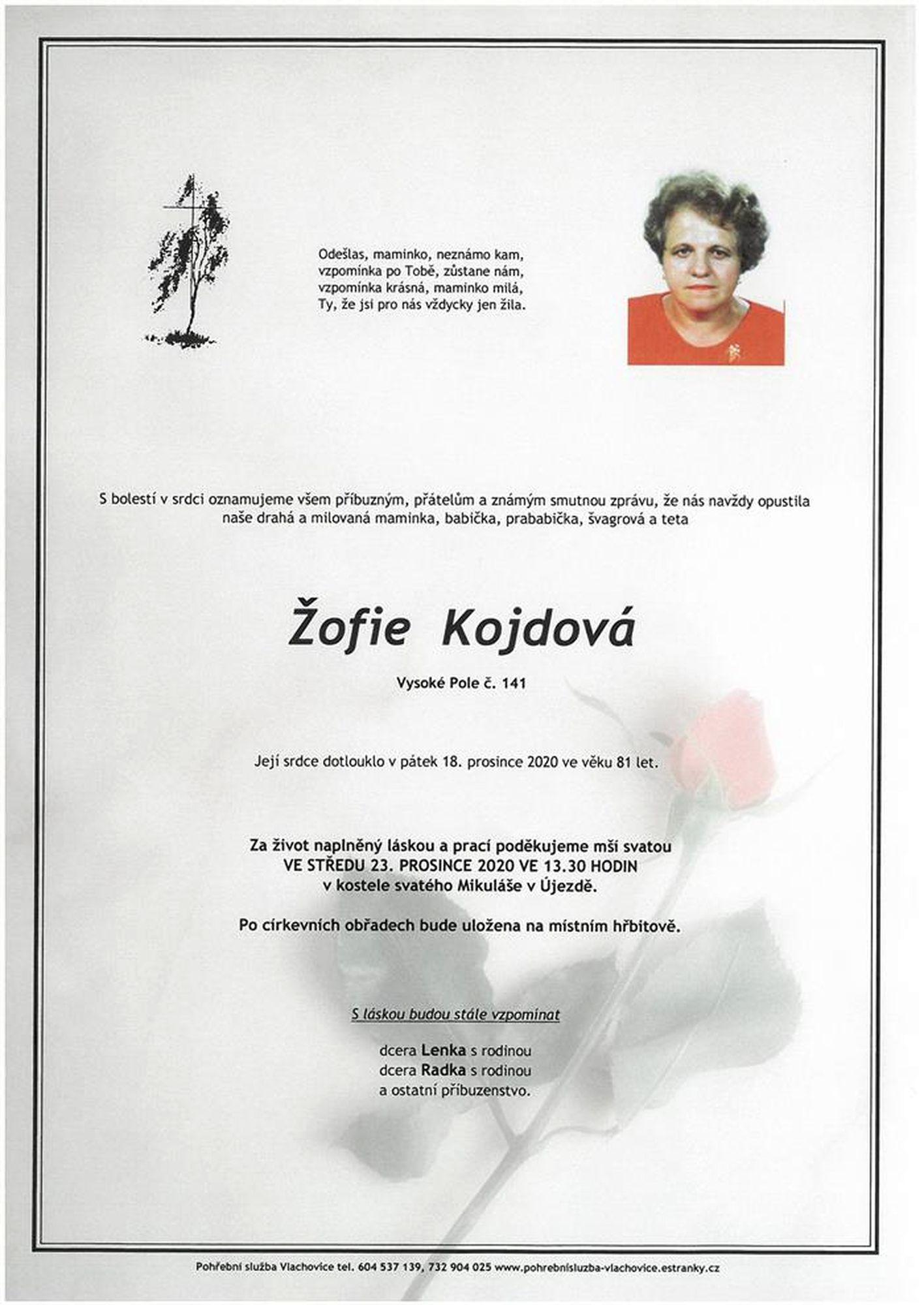 Žofie Kojdová