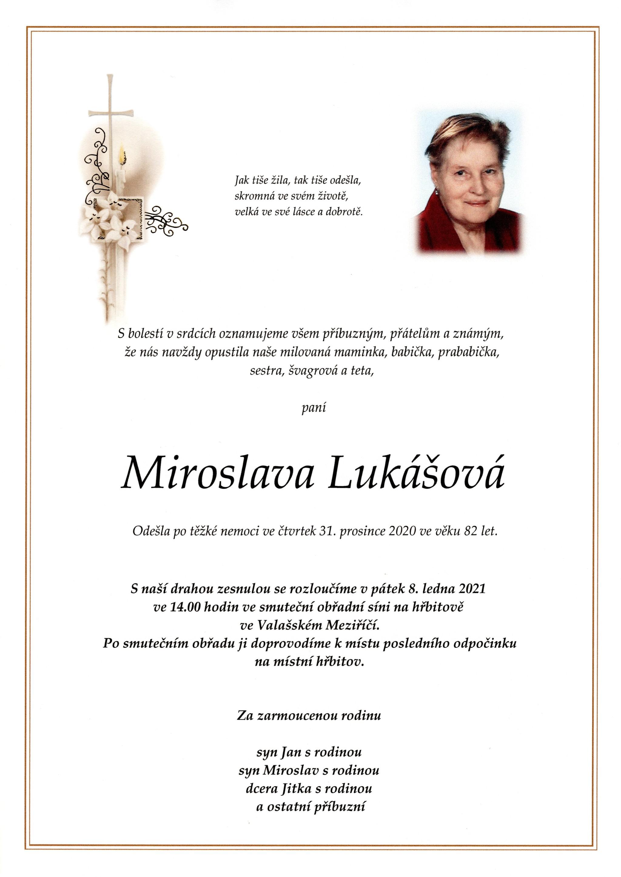 Miroslava Lukášová