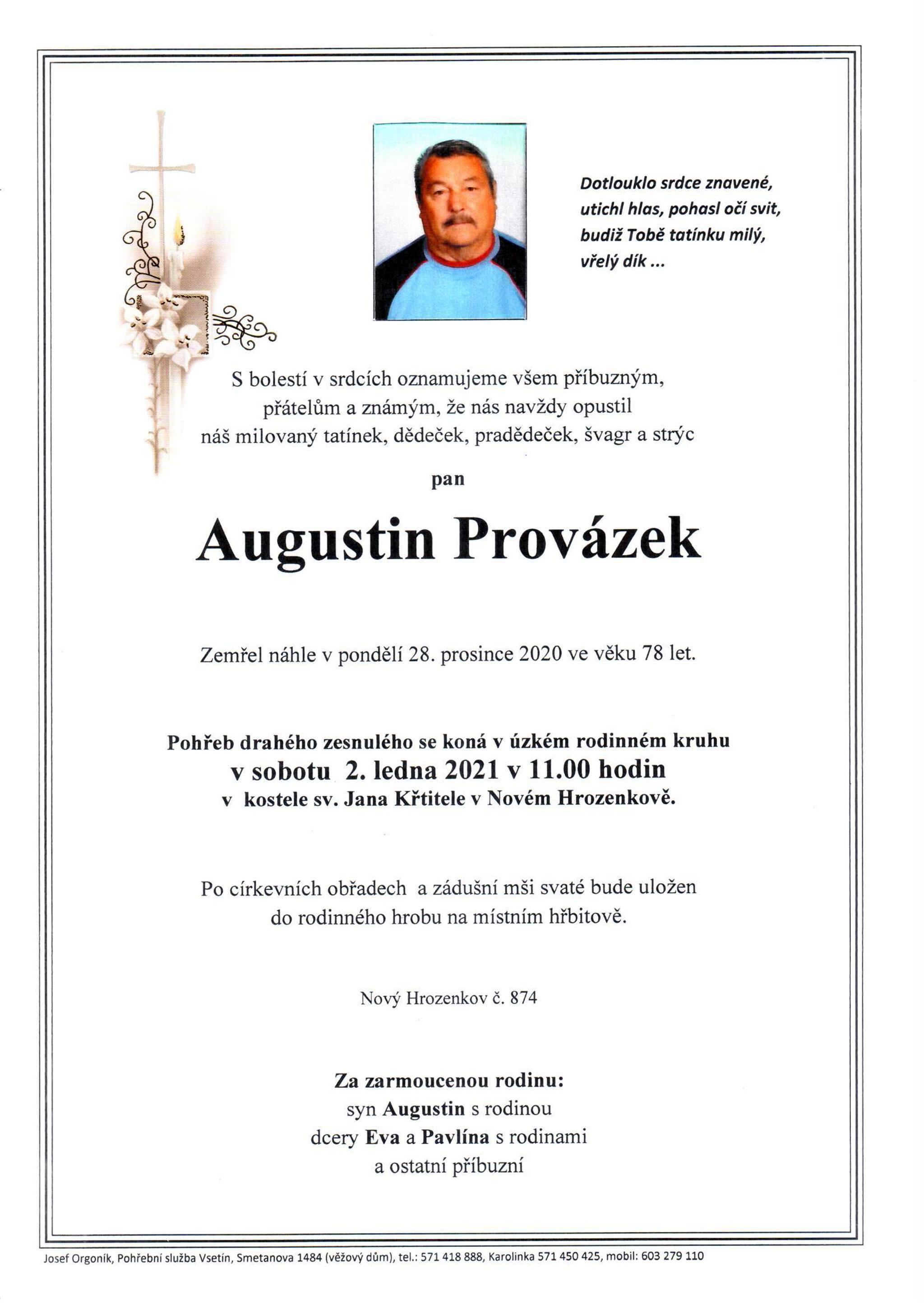 Augustin Provázek