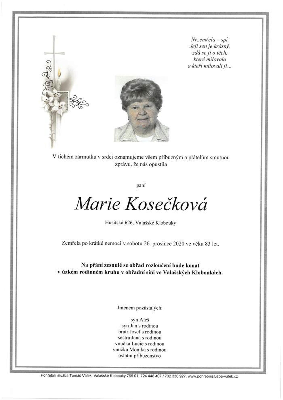 Marie Kosečková