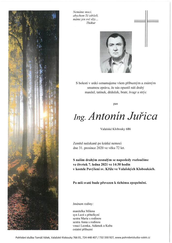 Ing. Antonín Juřica