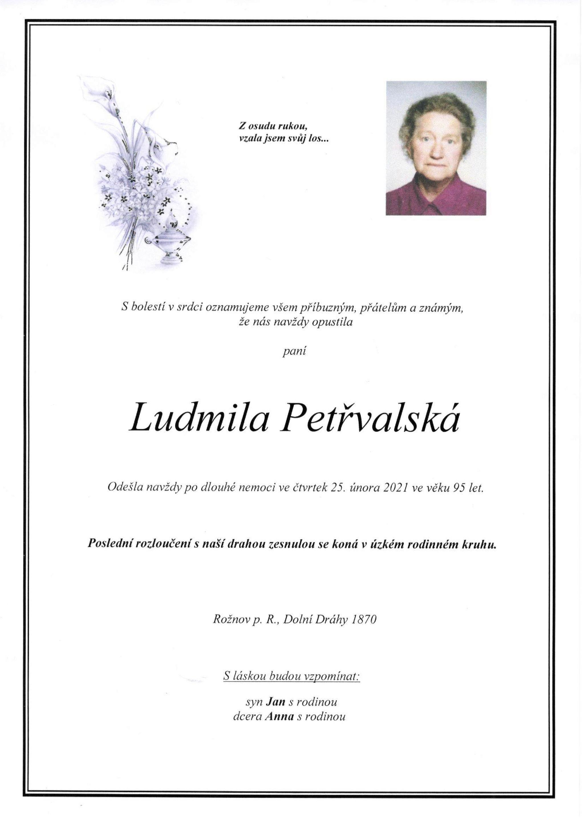 Ludmila Petřvaldská