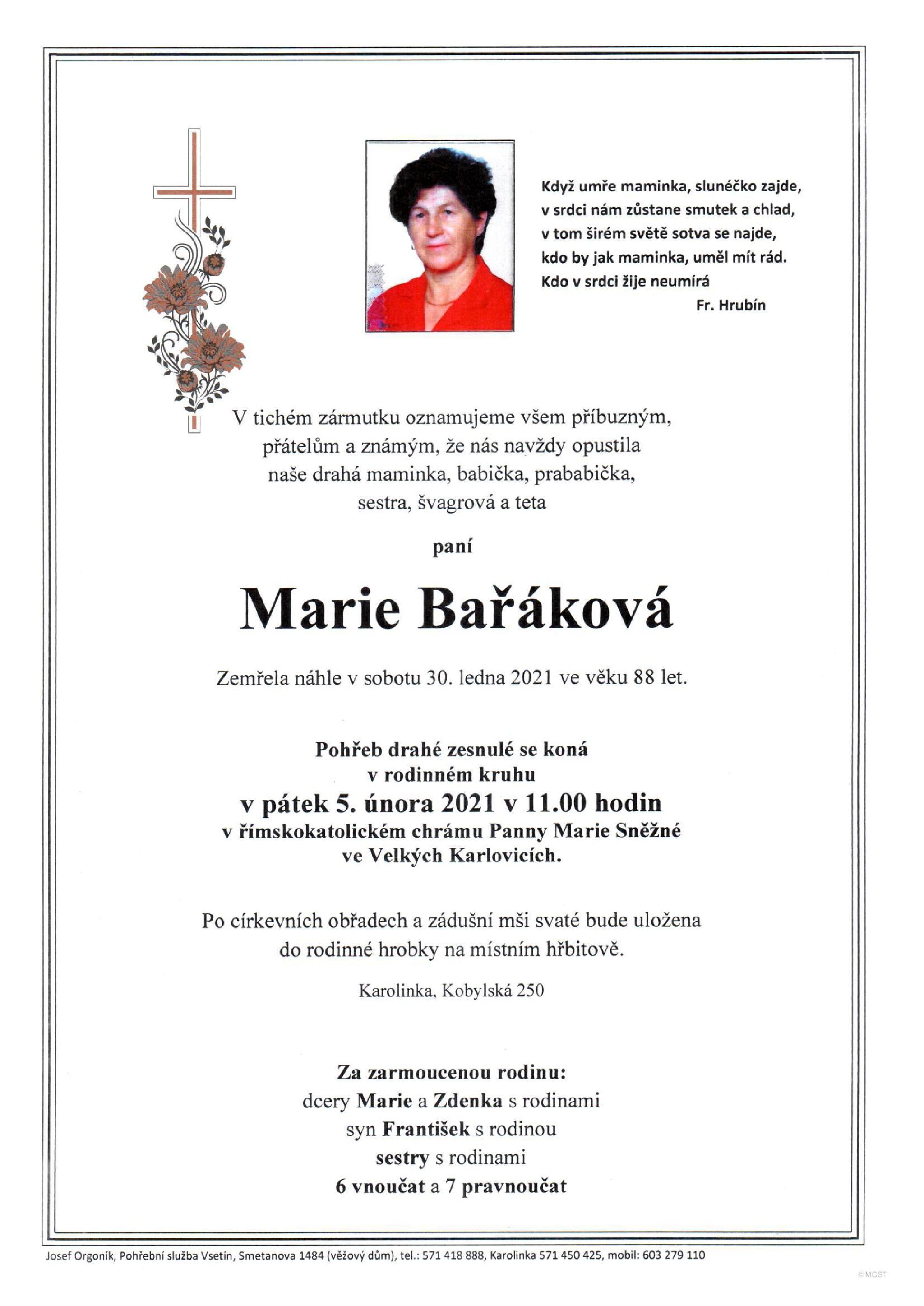 Marie Bařáková