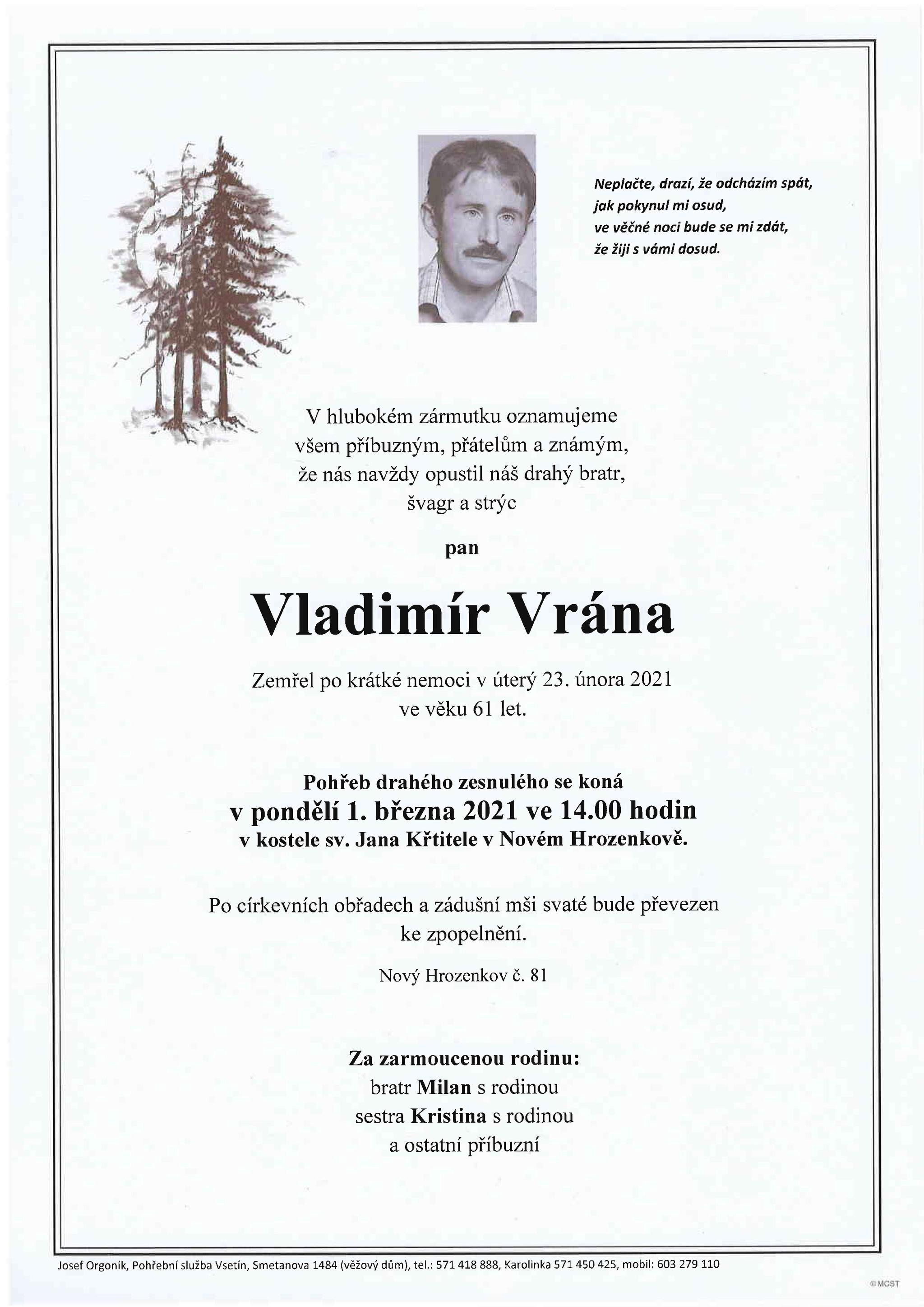 Vladimír Vrána
