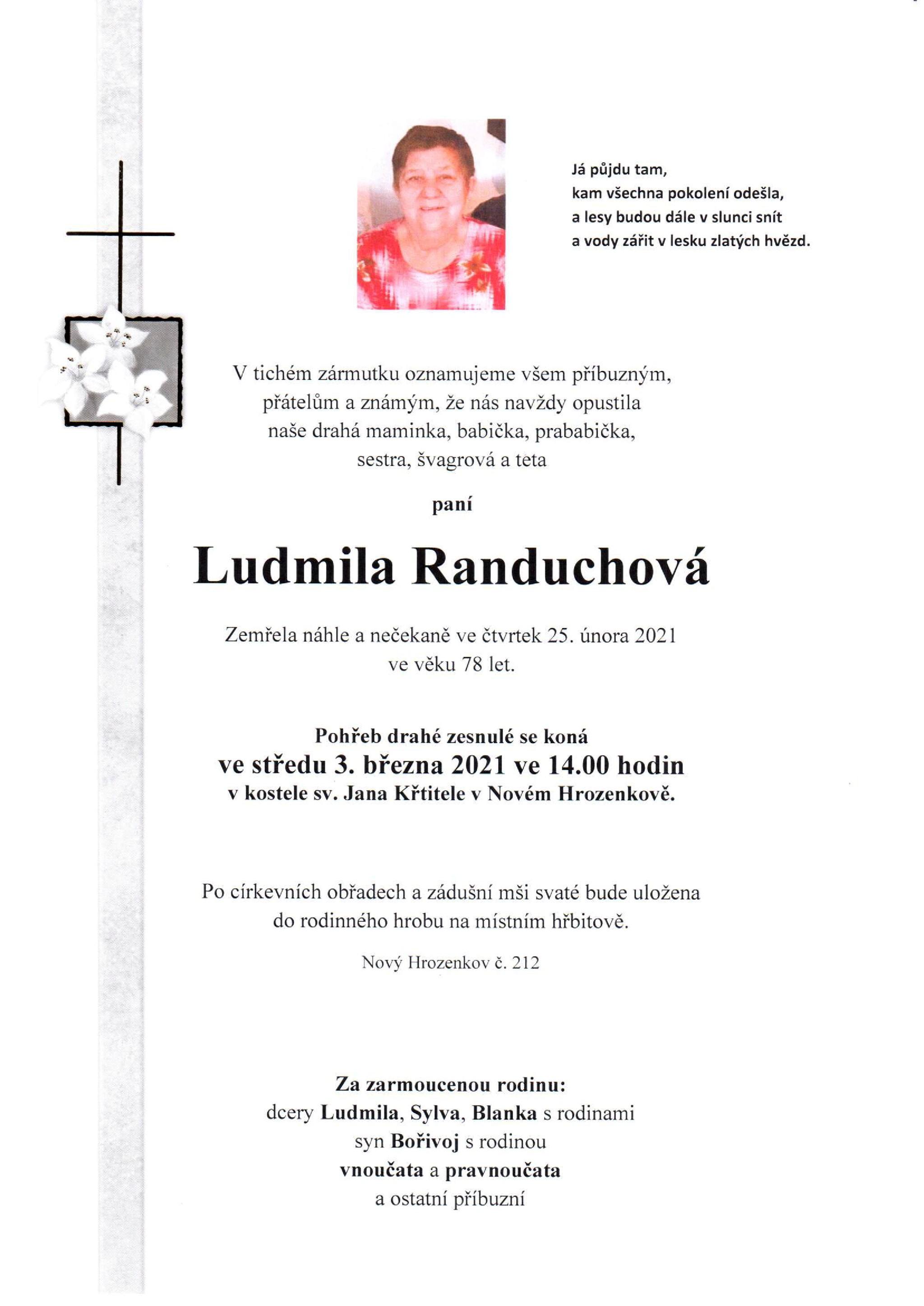 Ludmila Randuchová