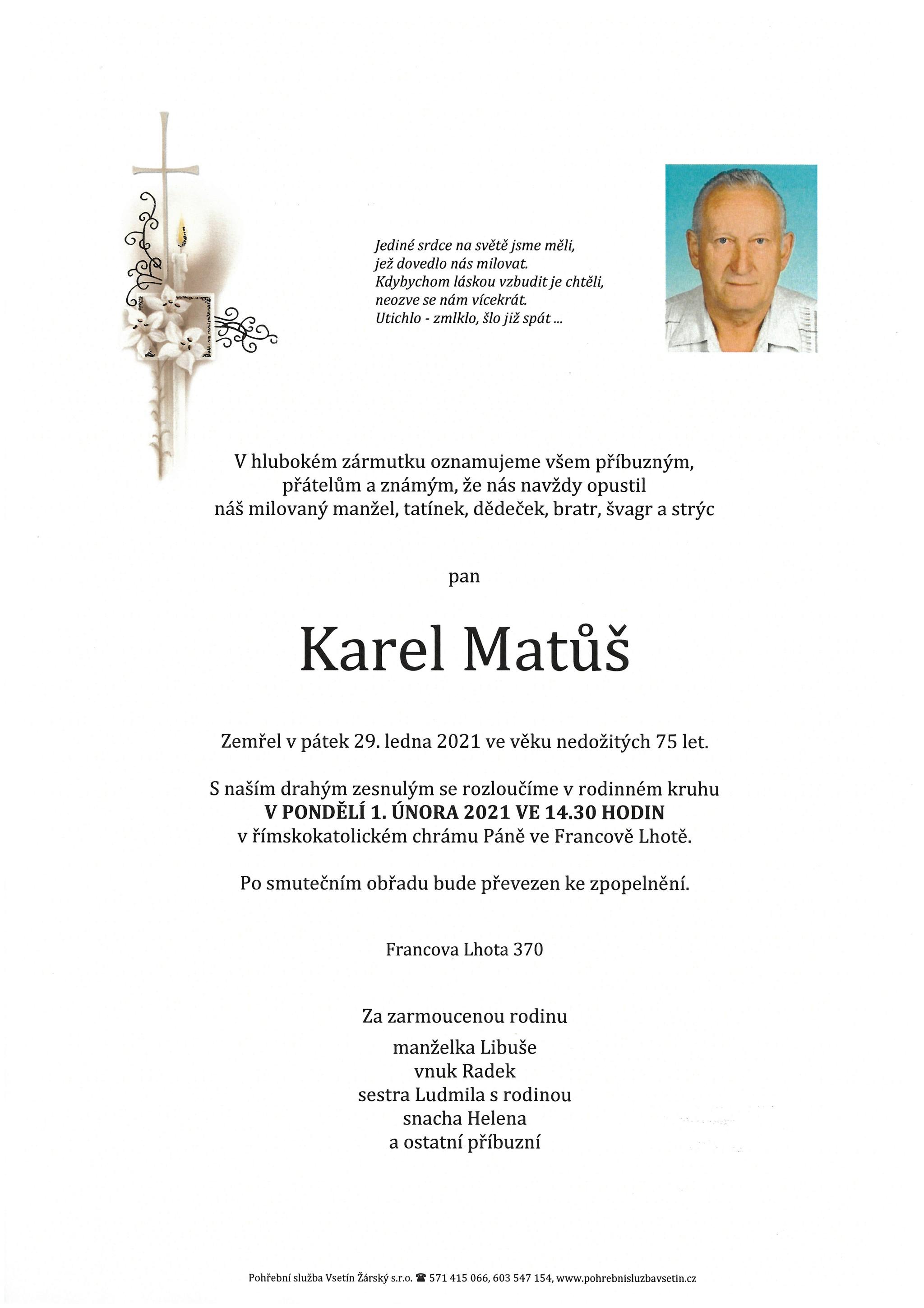Karel Matůš