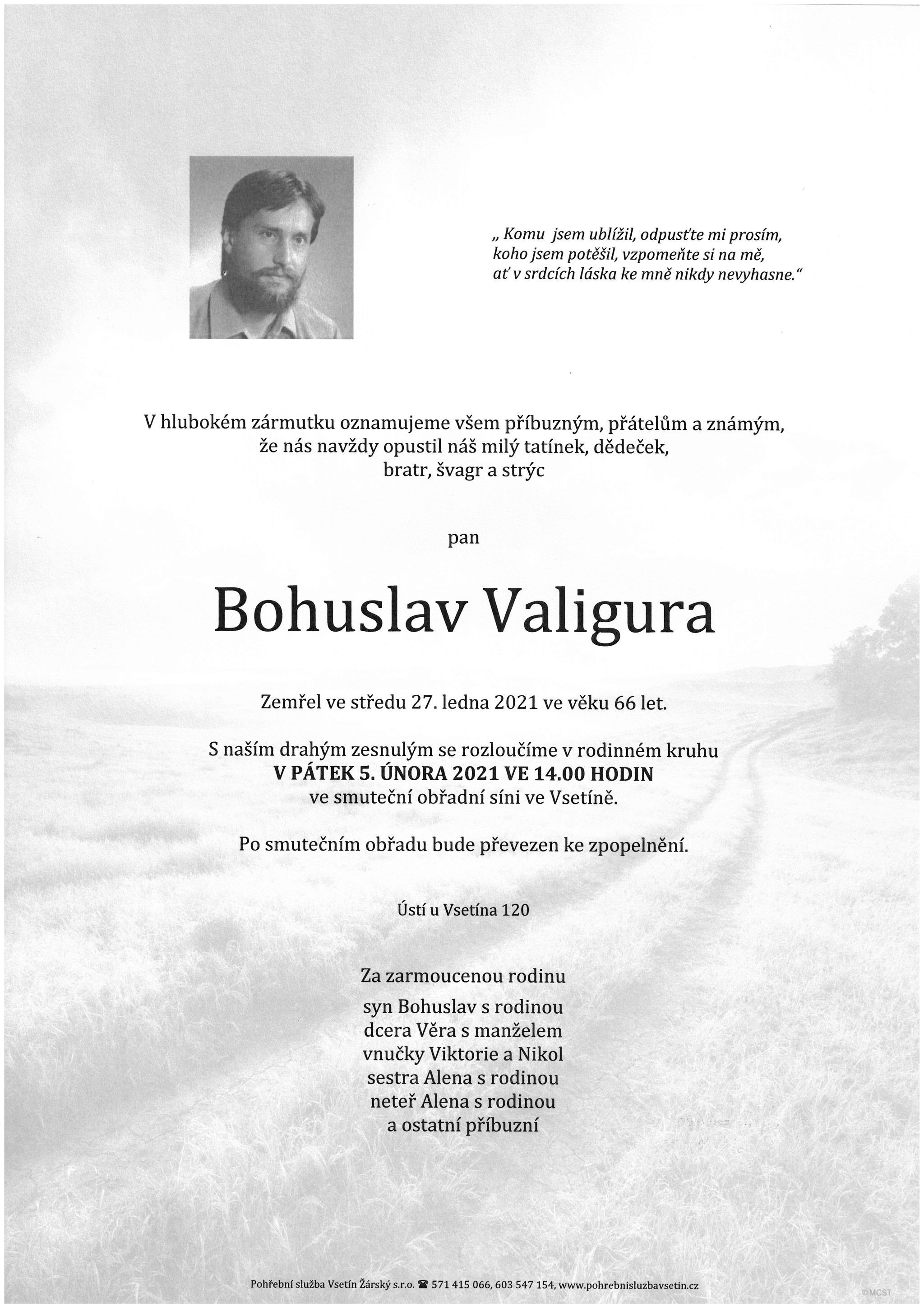 Bohuslav Valigura