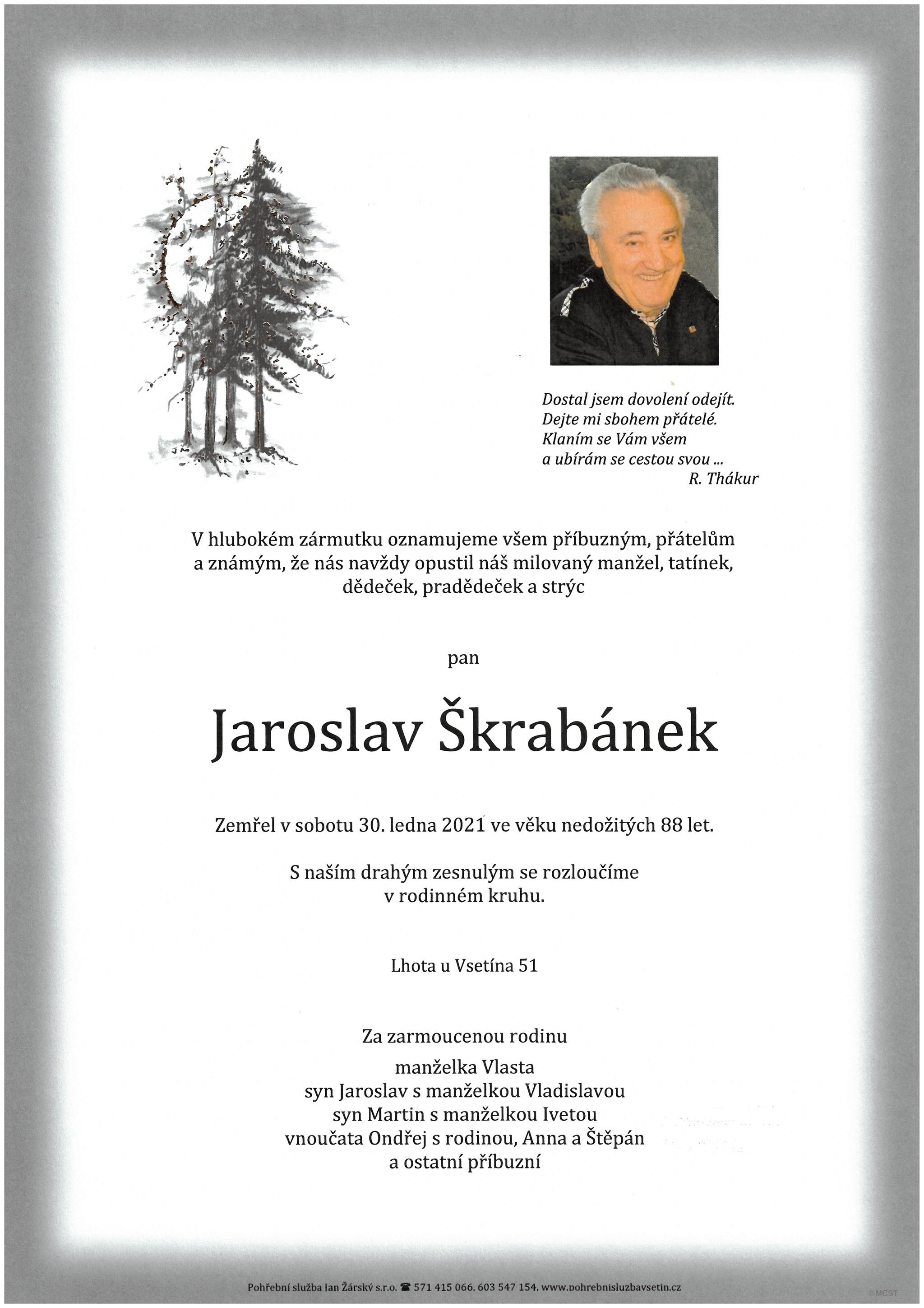 Jaroslav Škrabánek