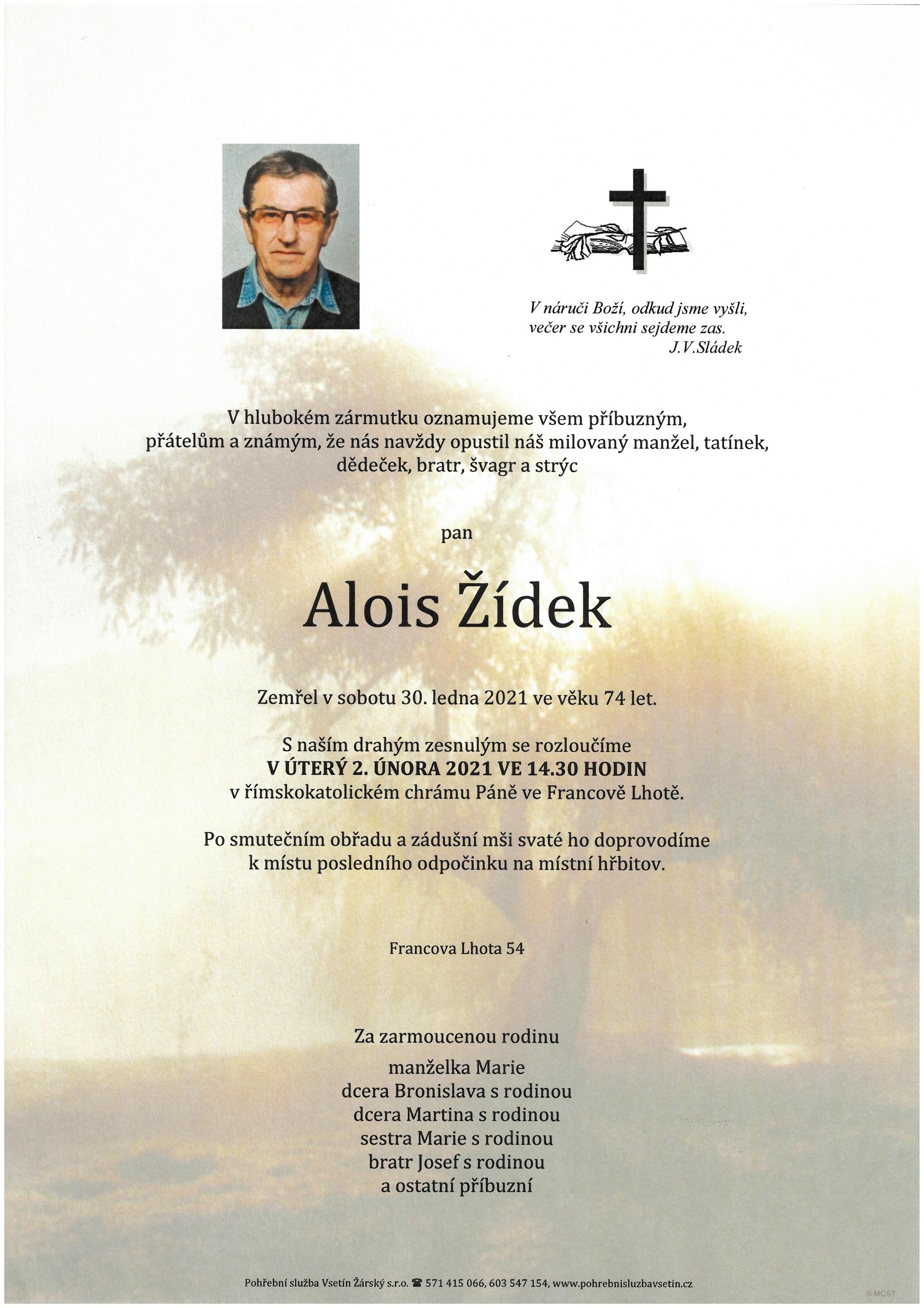 Alois Žídek