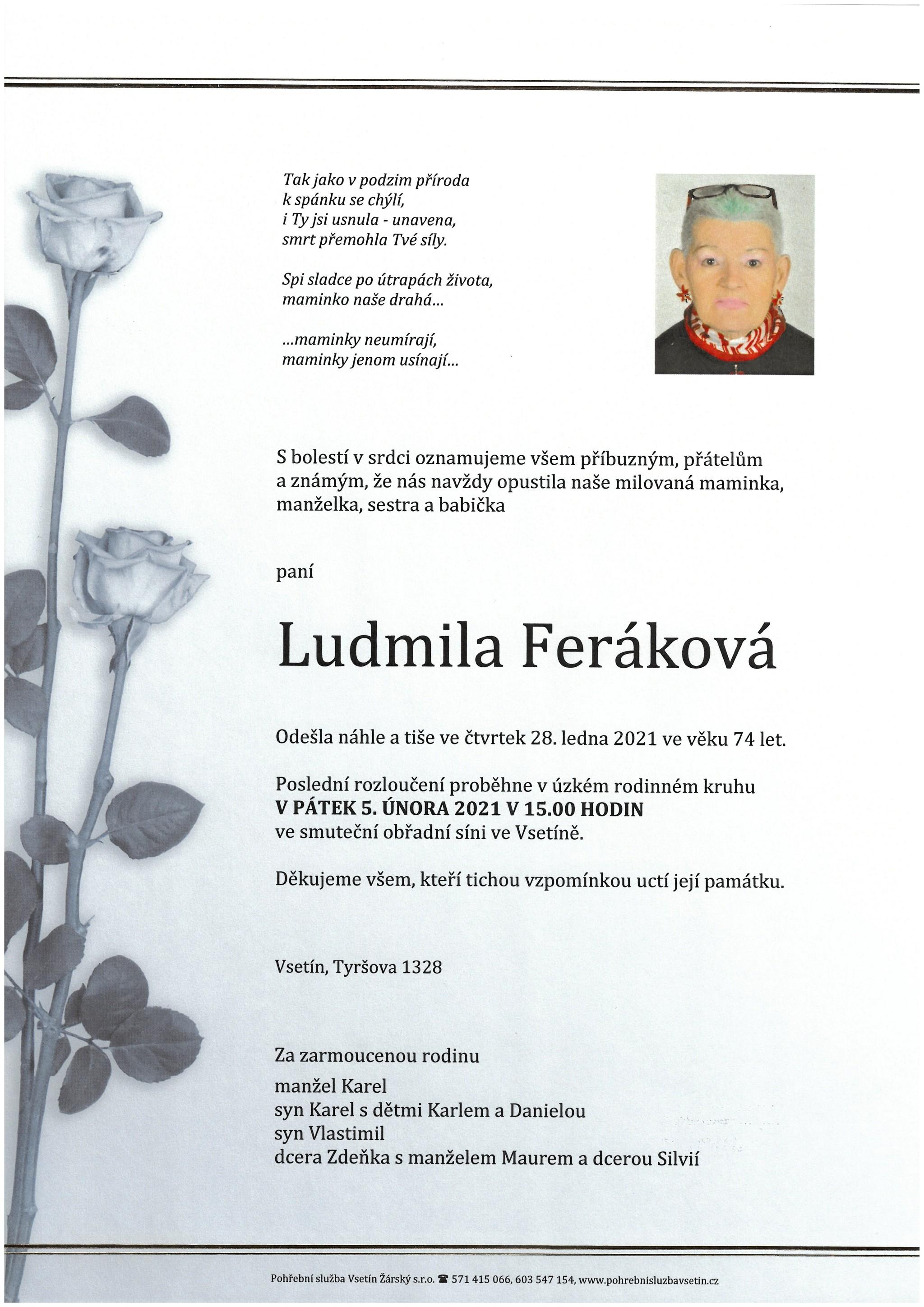 Ludmila Feráková