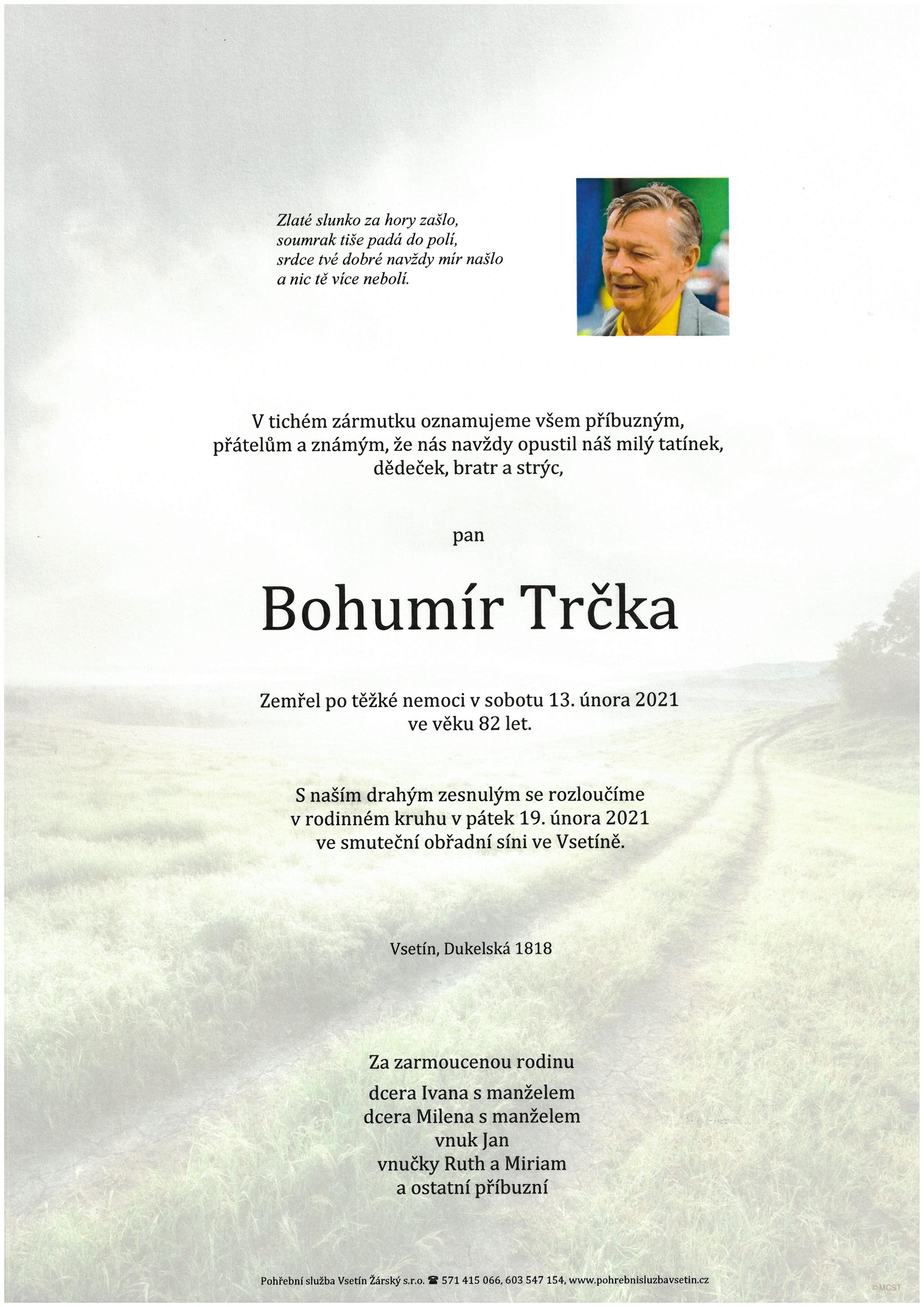 Bohumír Trčka