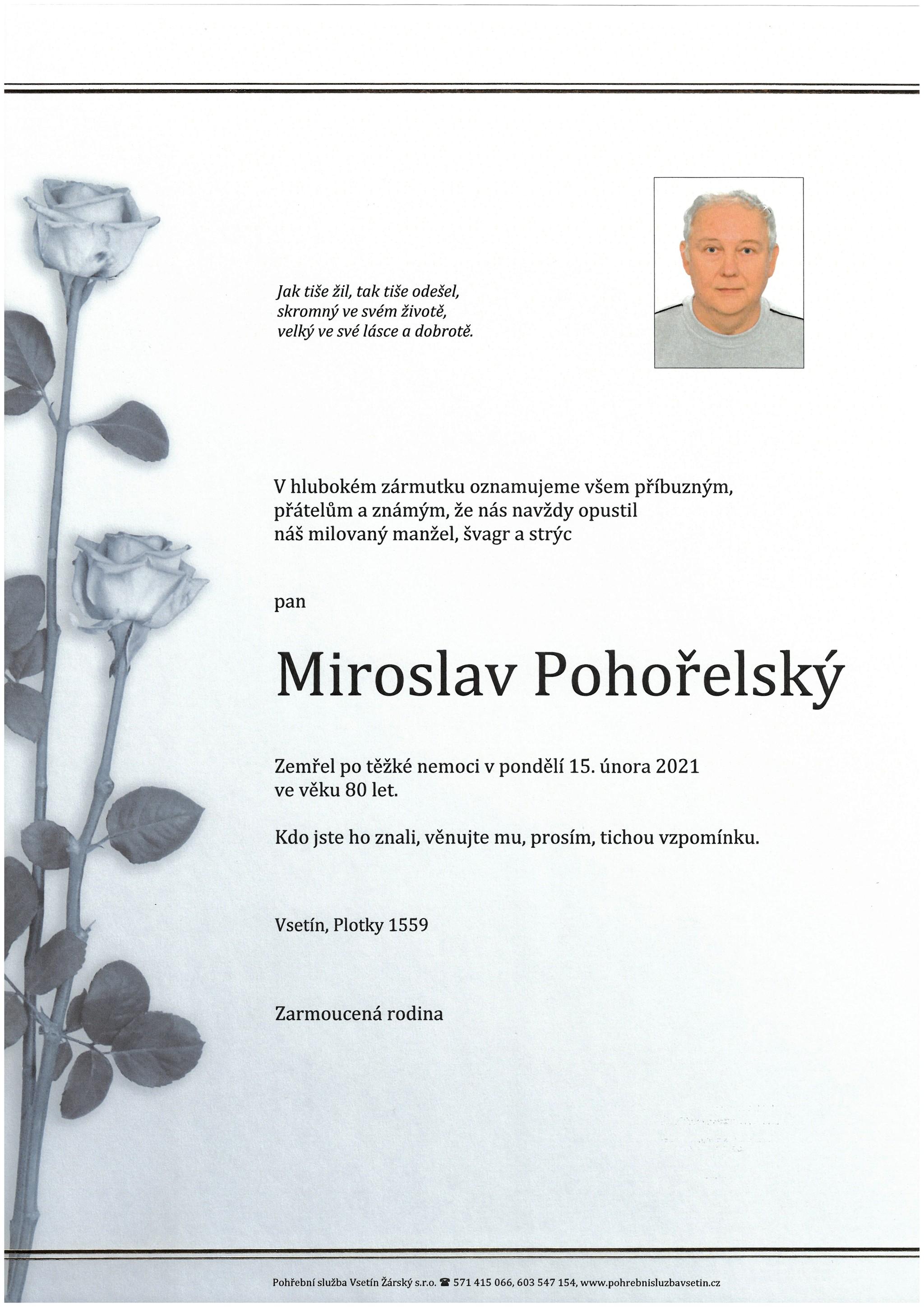 Miroslav Pohořelský
