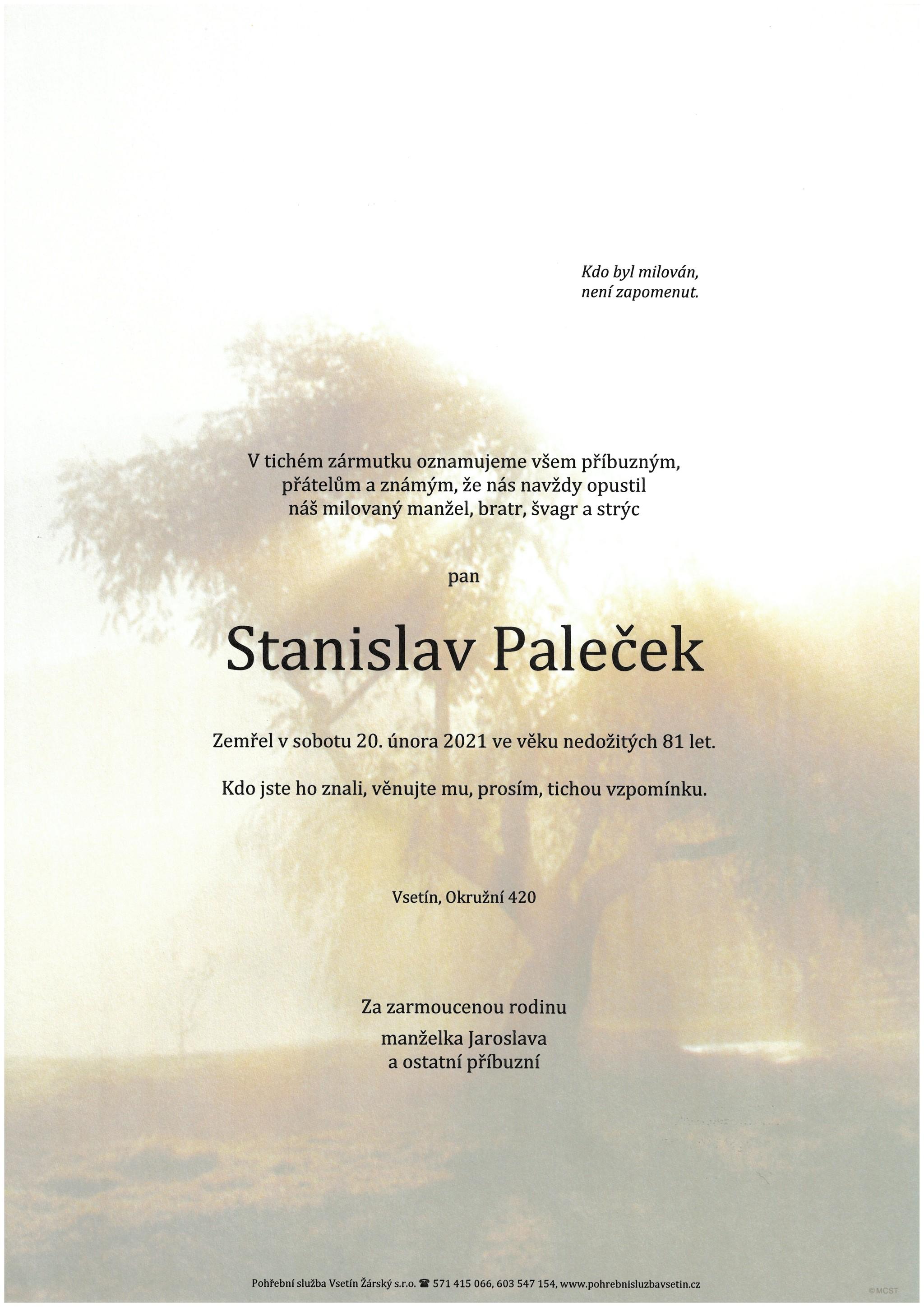 Stanislav Paleček