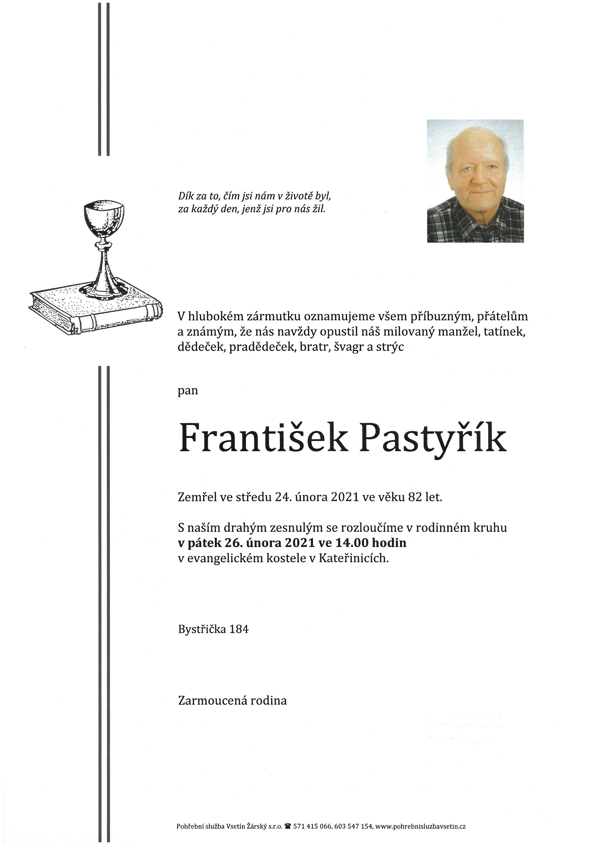 František Pastyřík