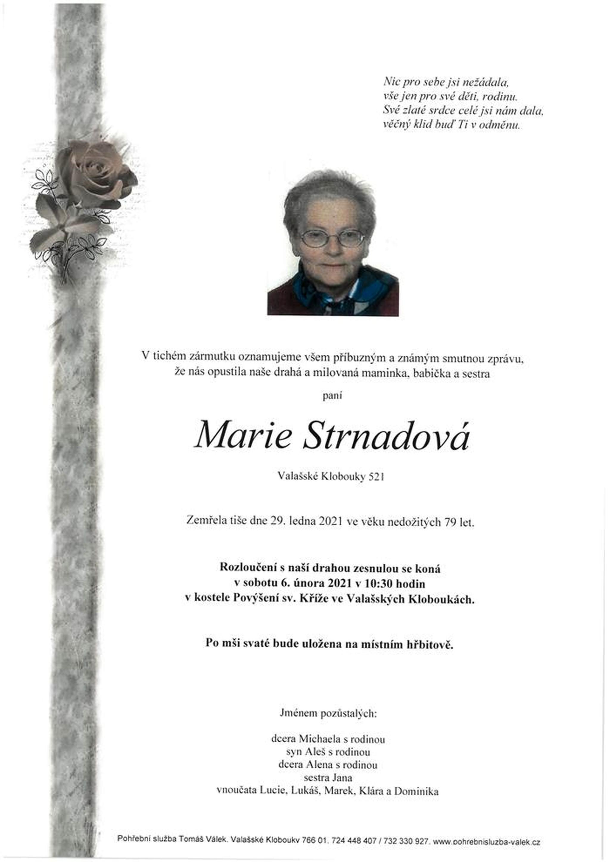 Marie Strnadová