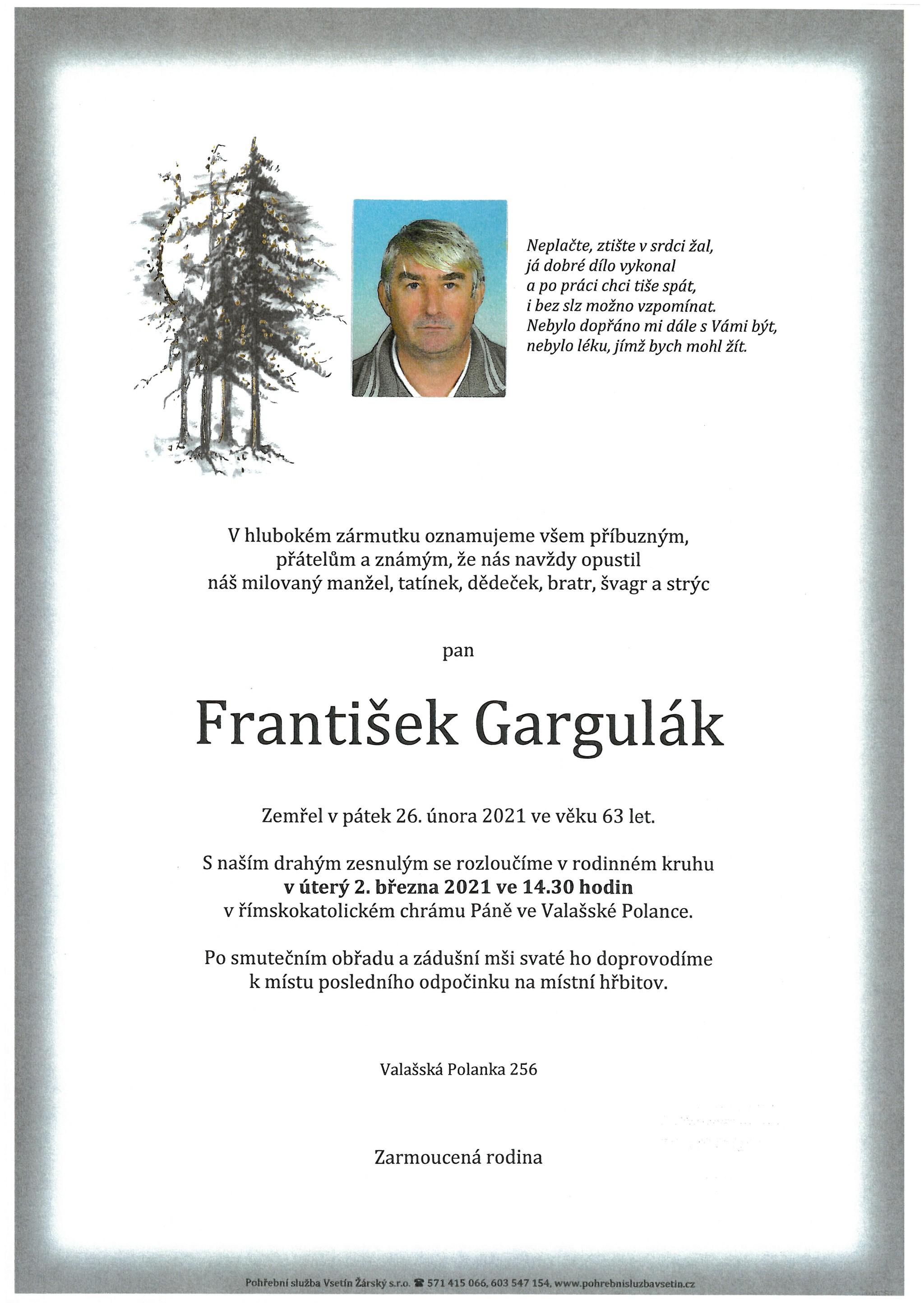 František Gargulák