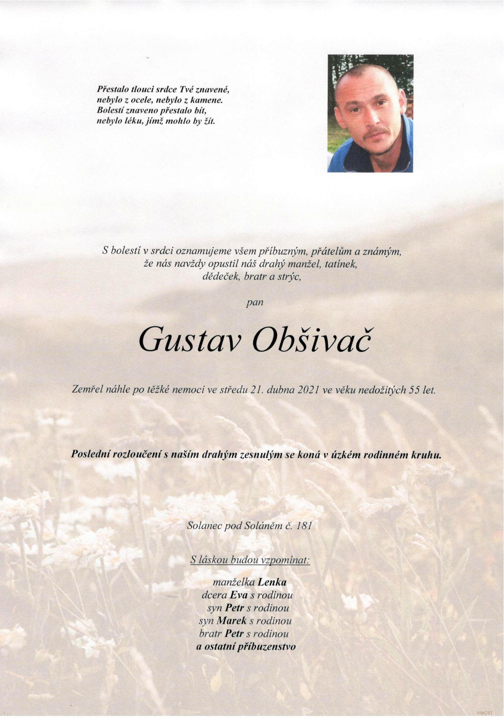 Gustav Obšivač