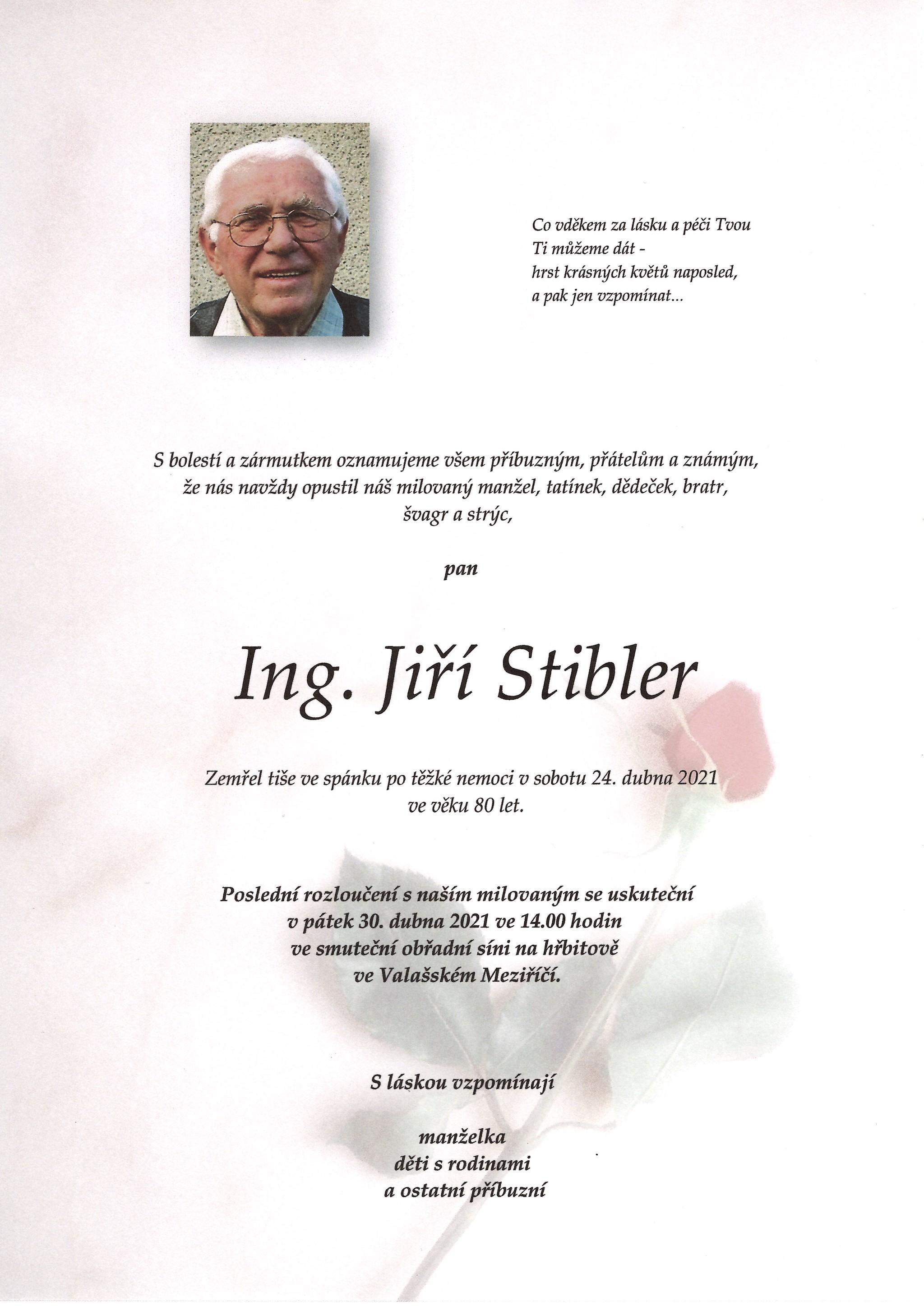 Ing. Jiří Stibler