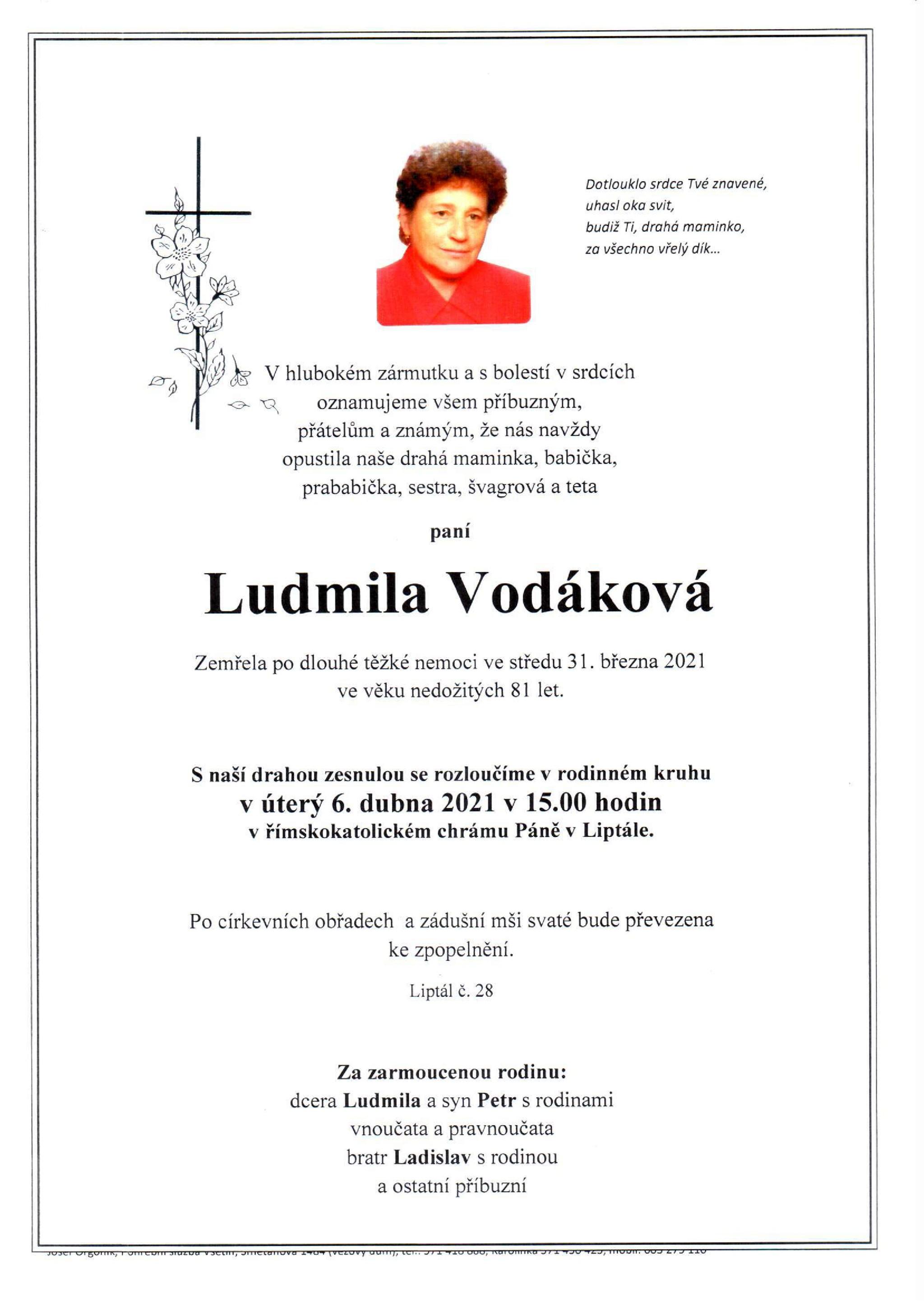 Ludmila Vodáková