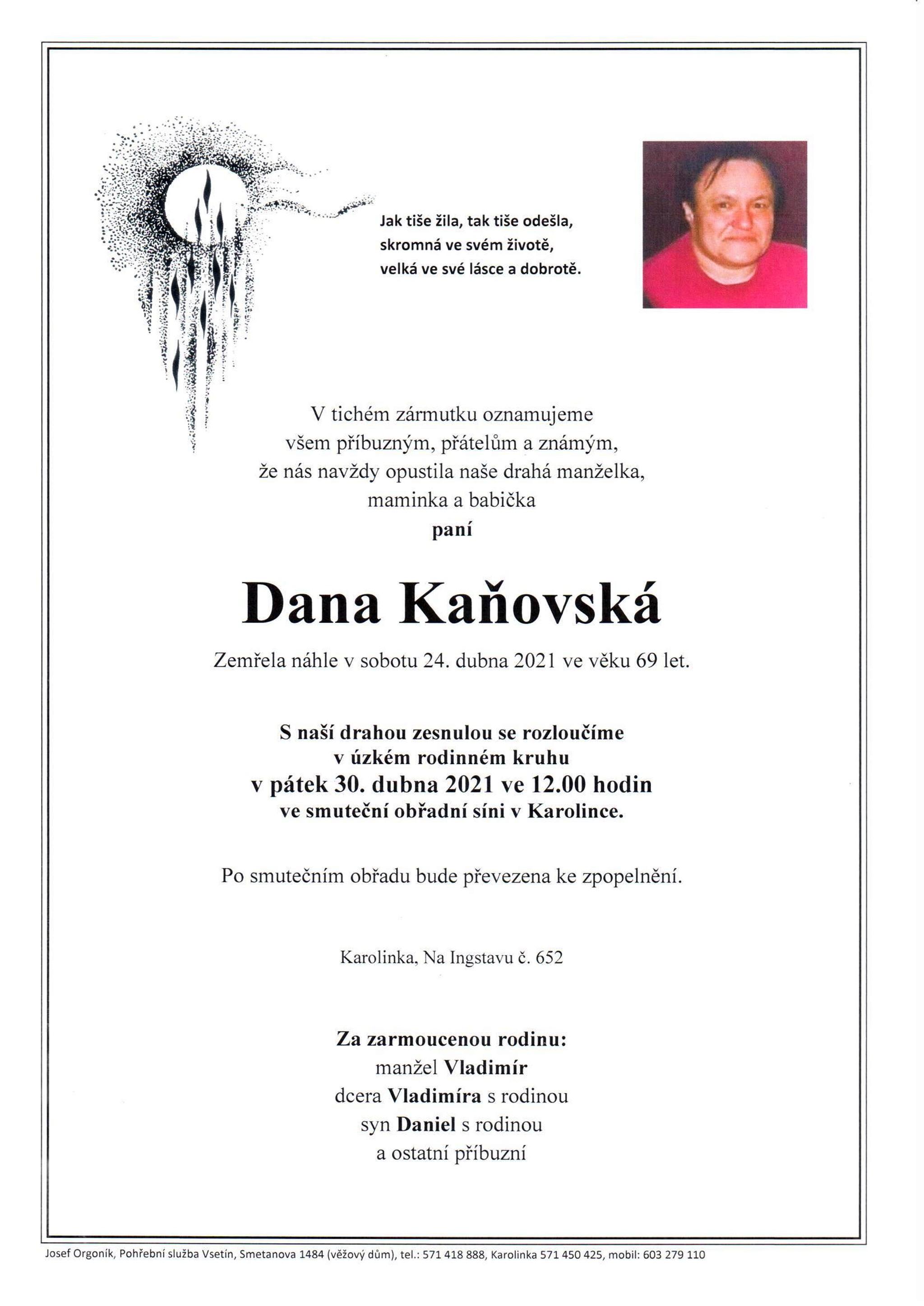 Dana Kaňovská
