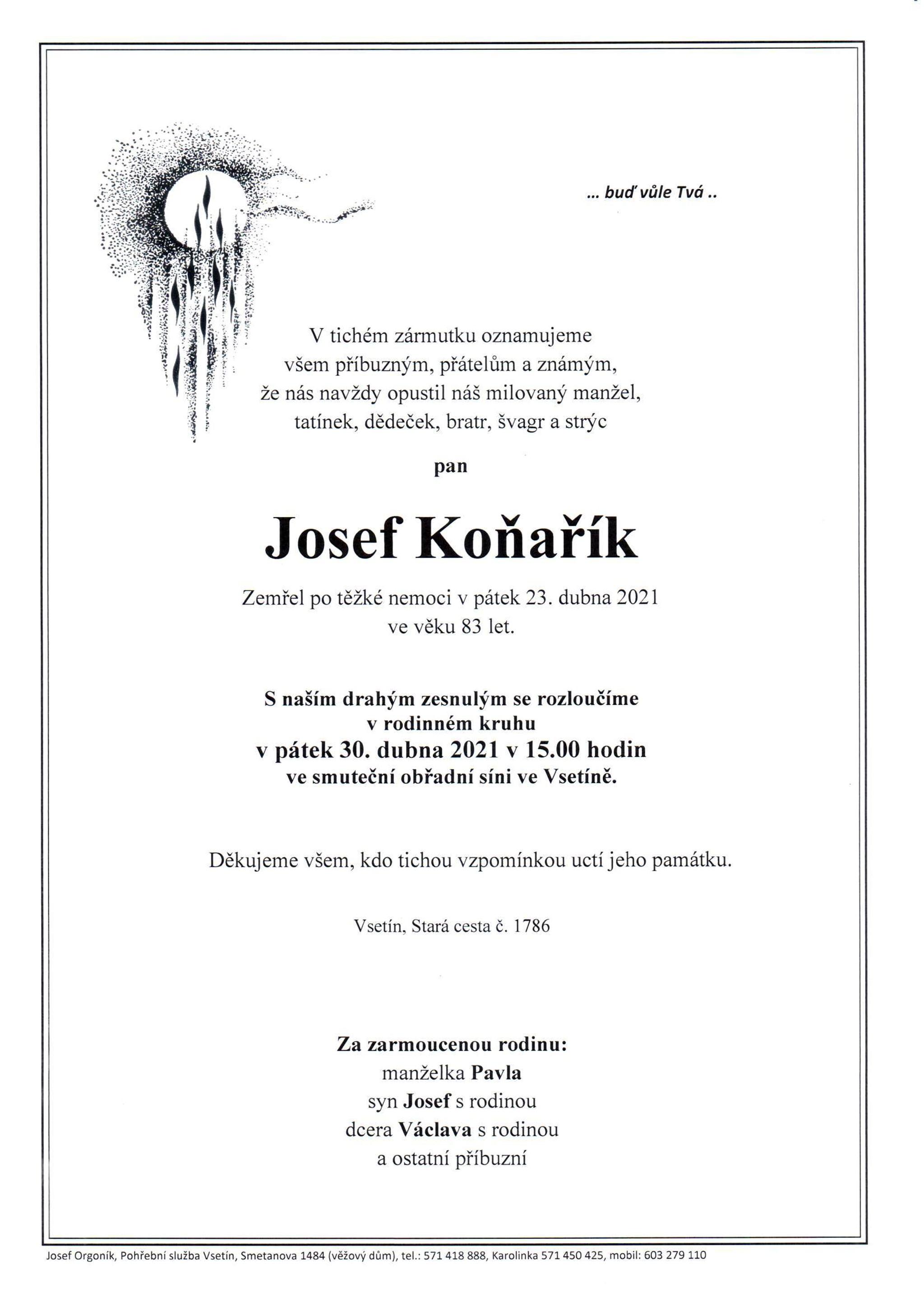 Josef Koňařík