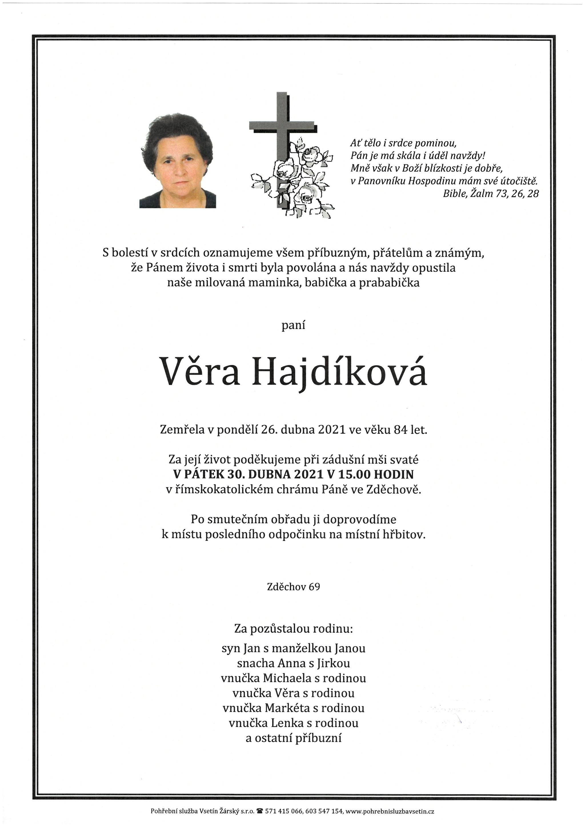 Věra Hajdíková