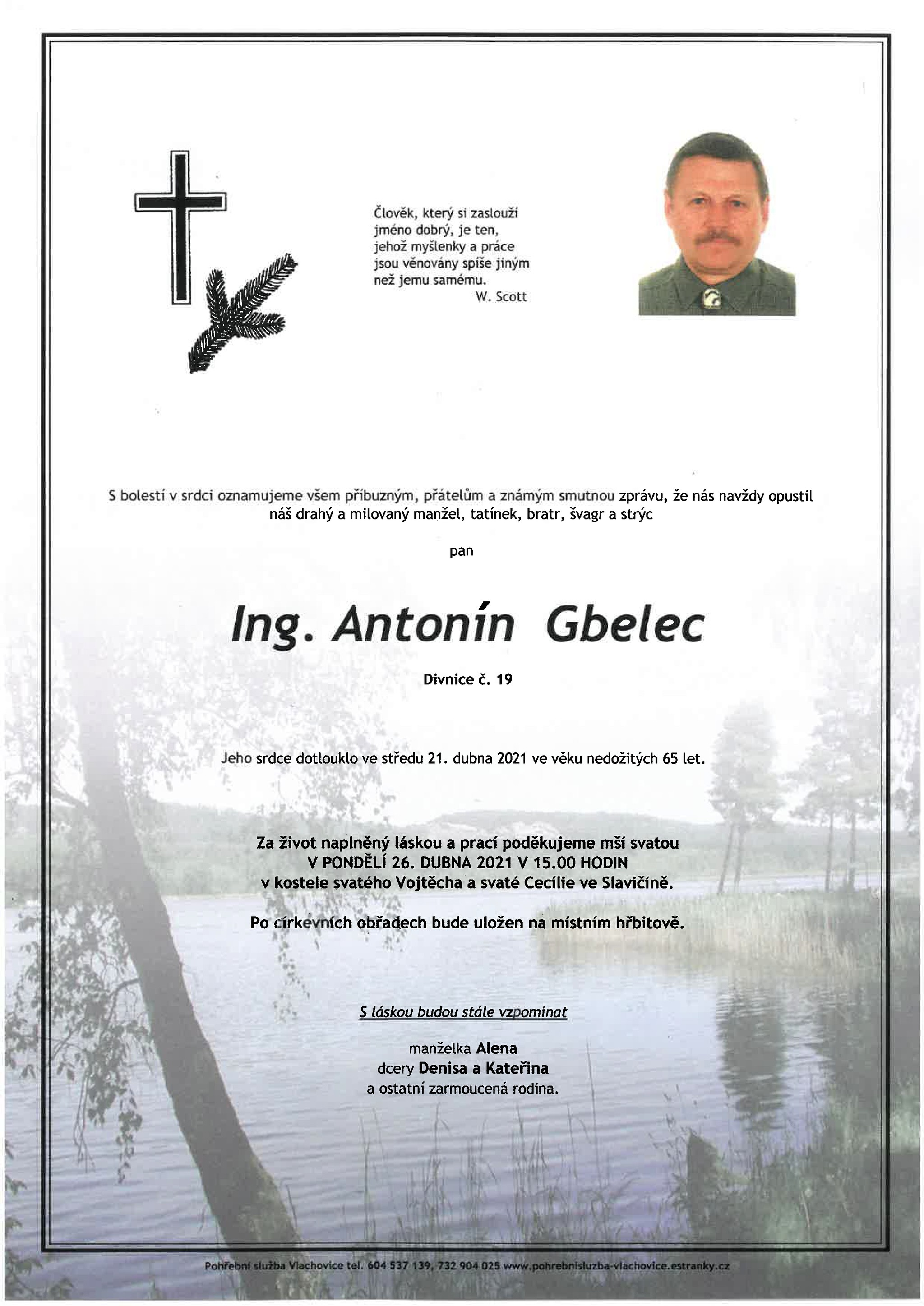 Ing. Antonín Gbelec