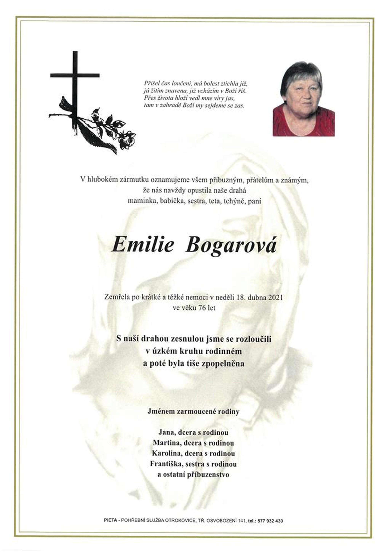 Emilie Bogarová