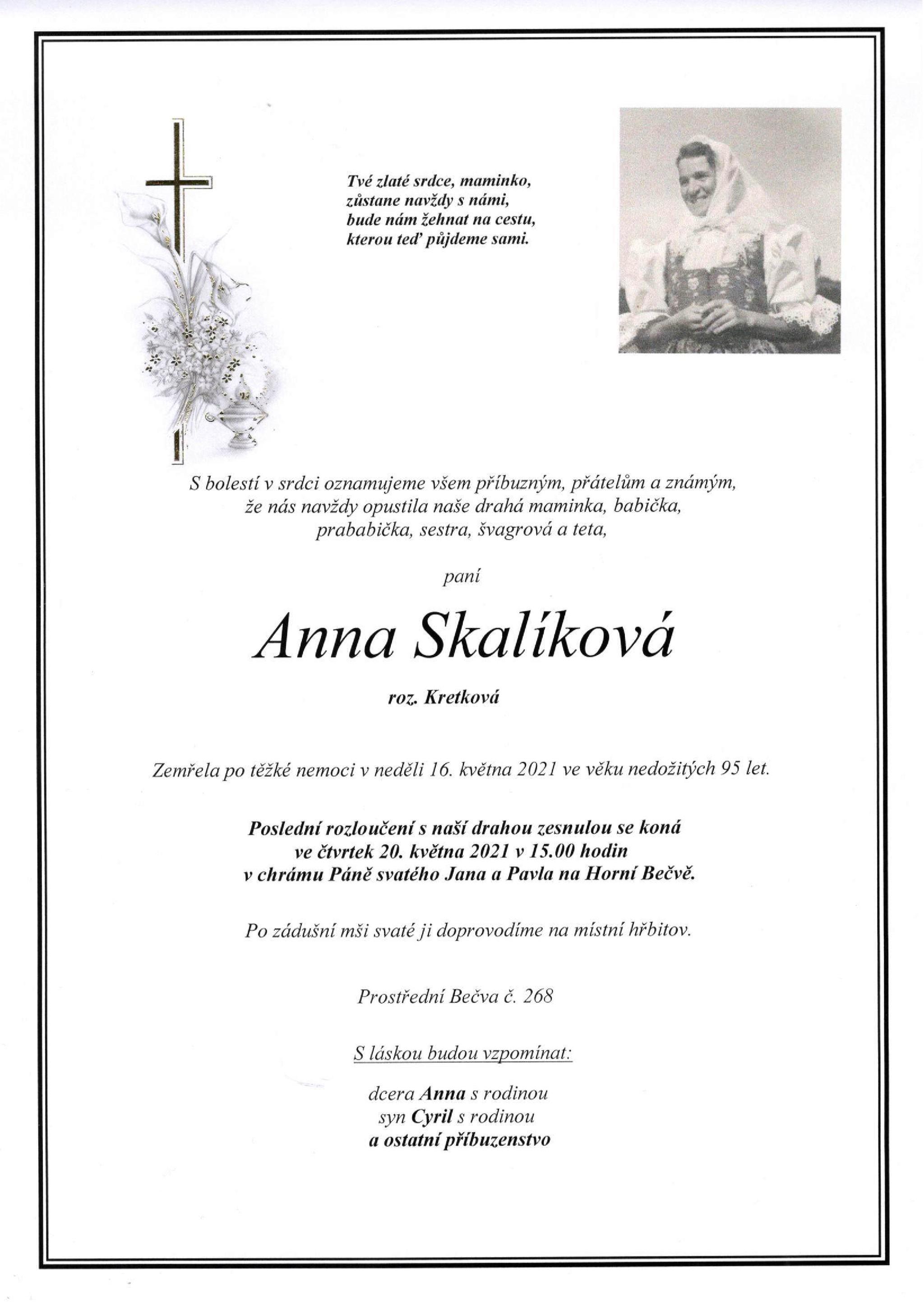 Anna Skalíková
