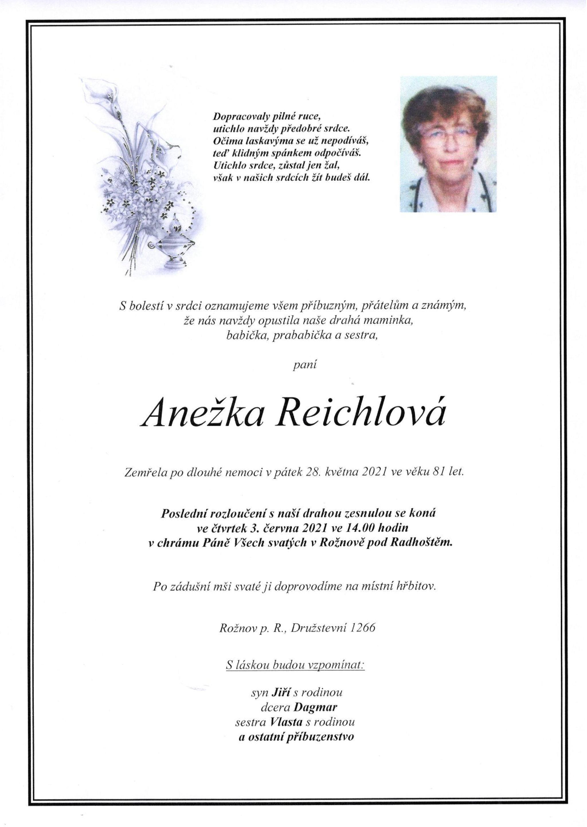 Anežka Reichlová
