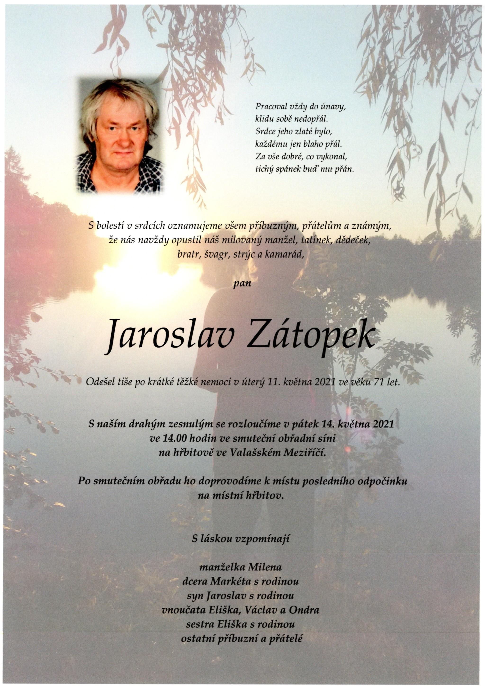 Jaroslav Zátopek