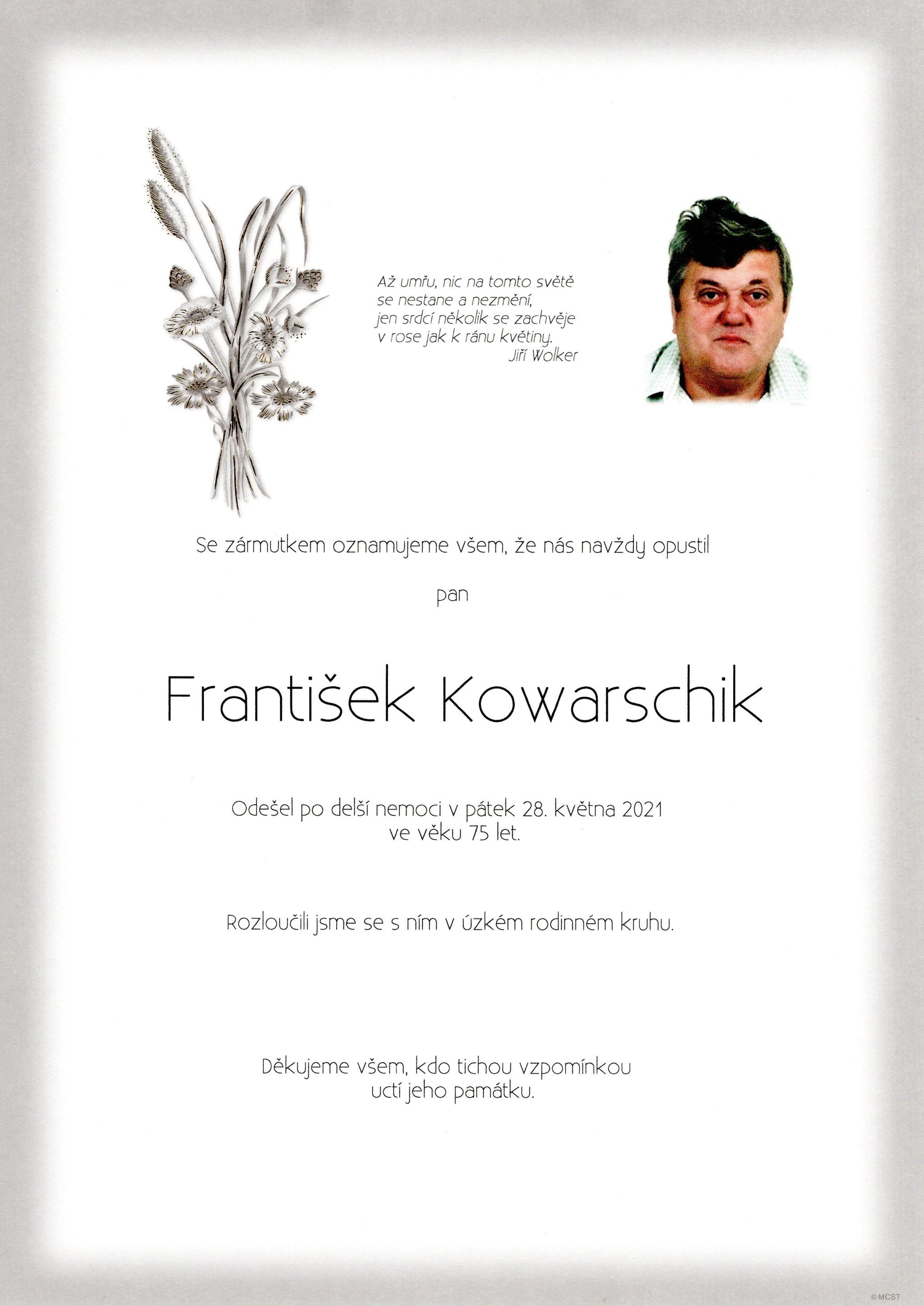 František Kowarschik