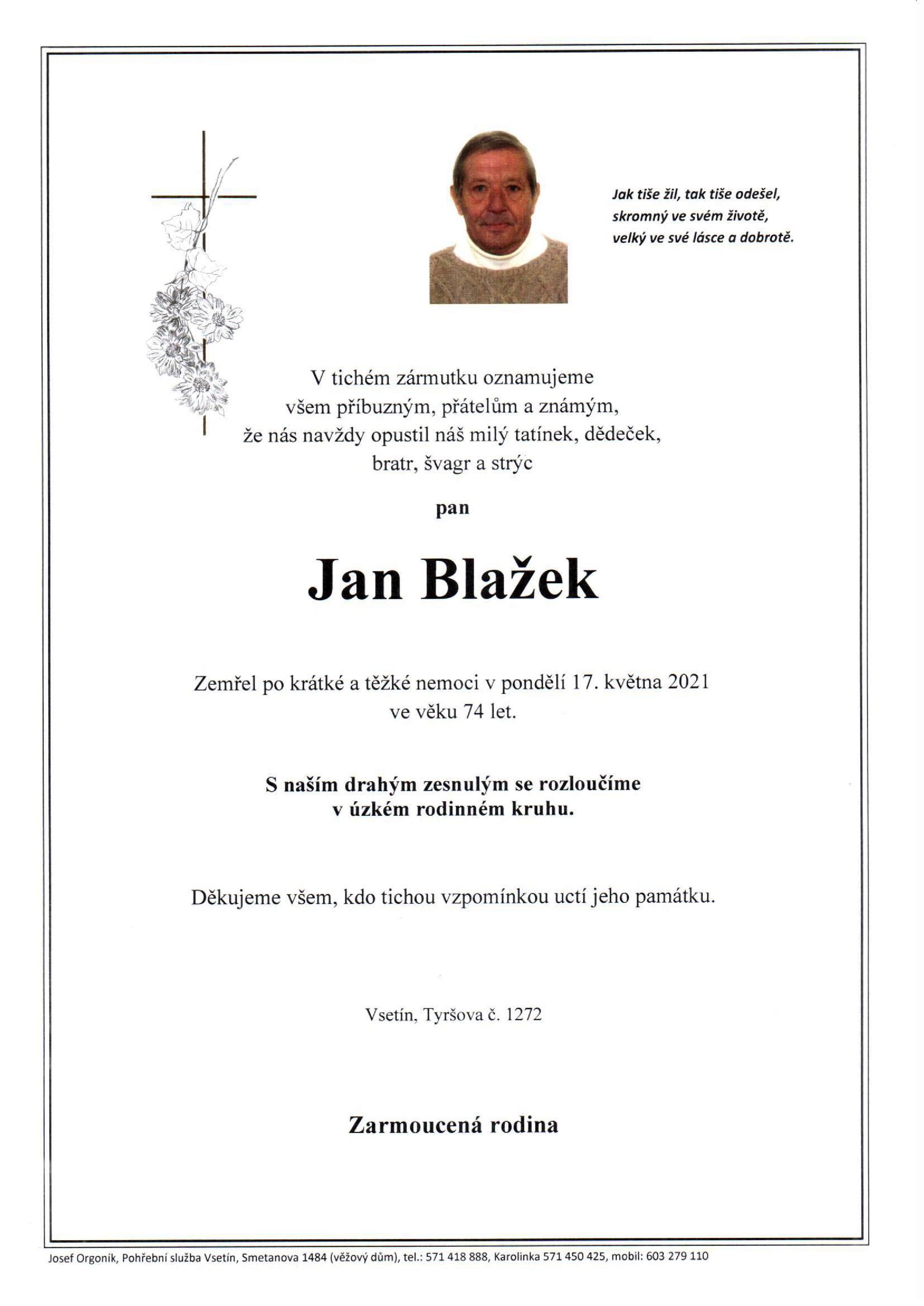 Jan Blažek