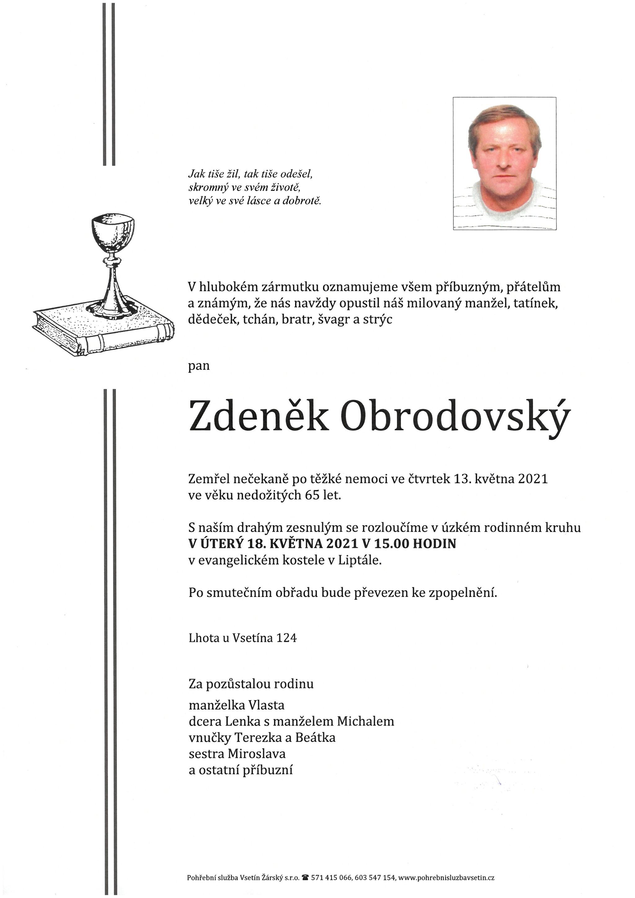 Zdeněk Obrodovský