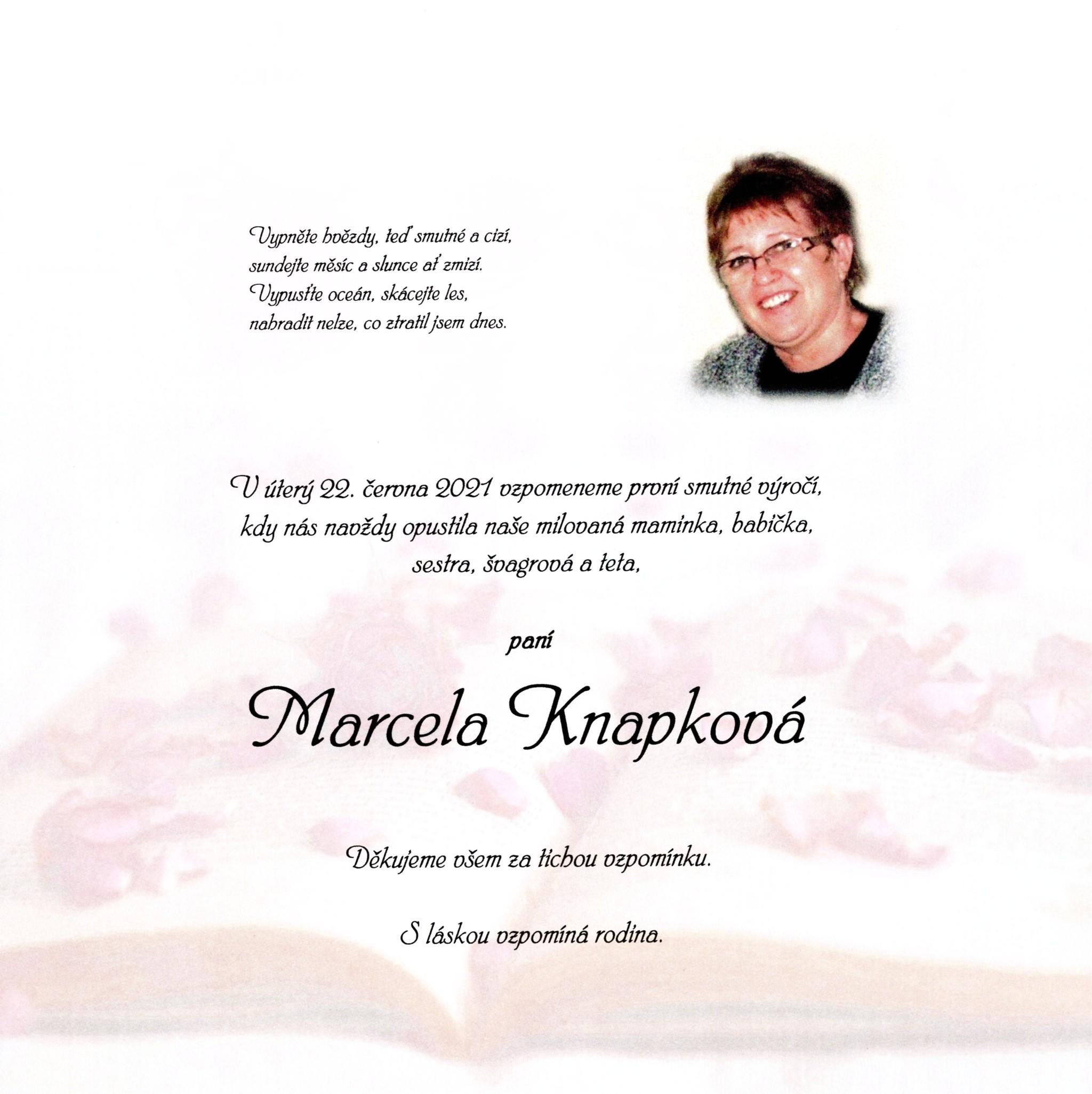Marcela Knapková