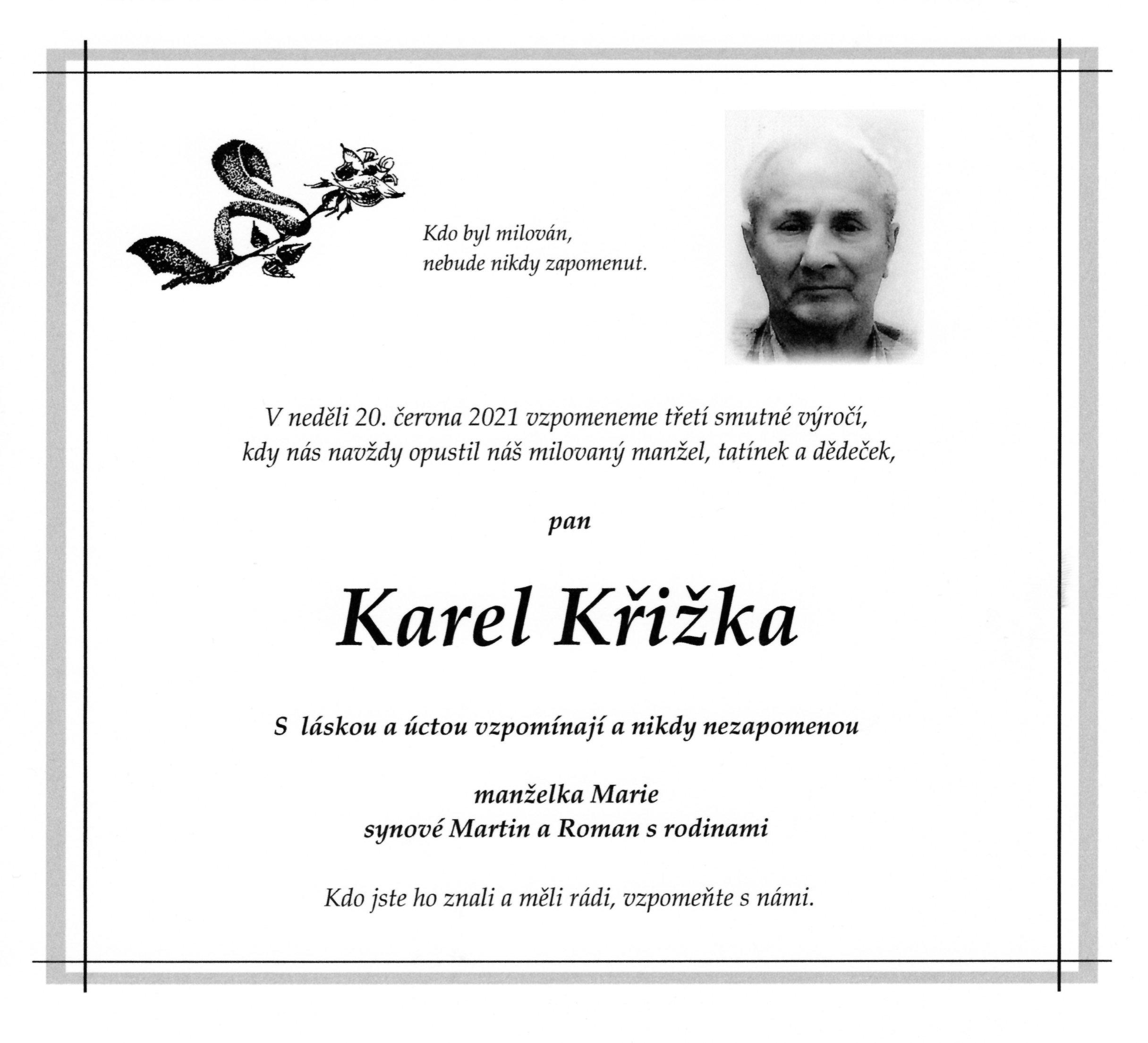 Karel Křižka