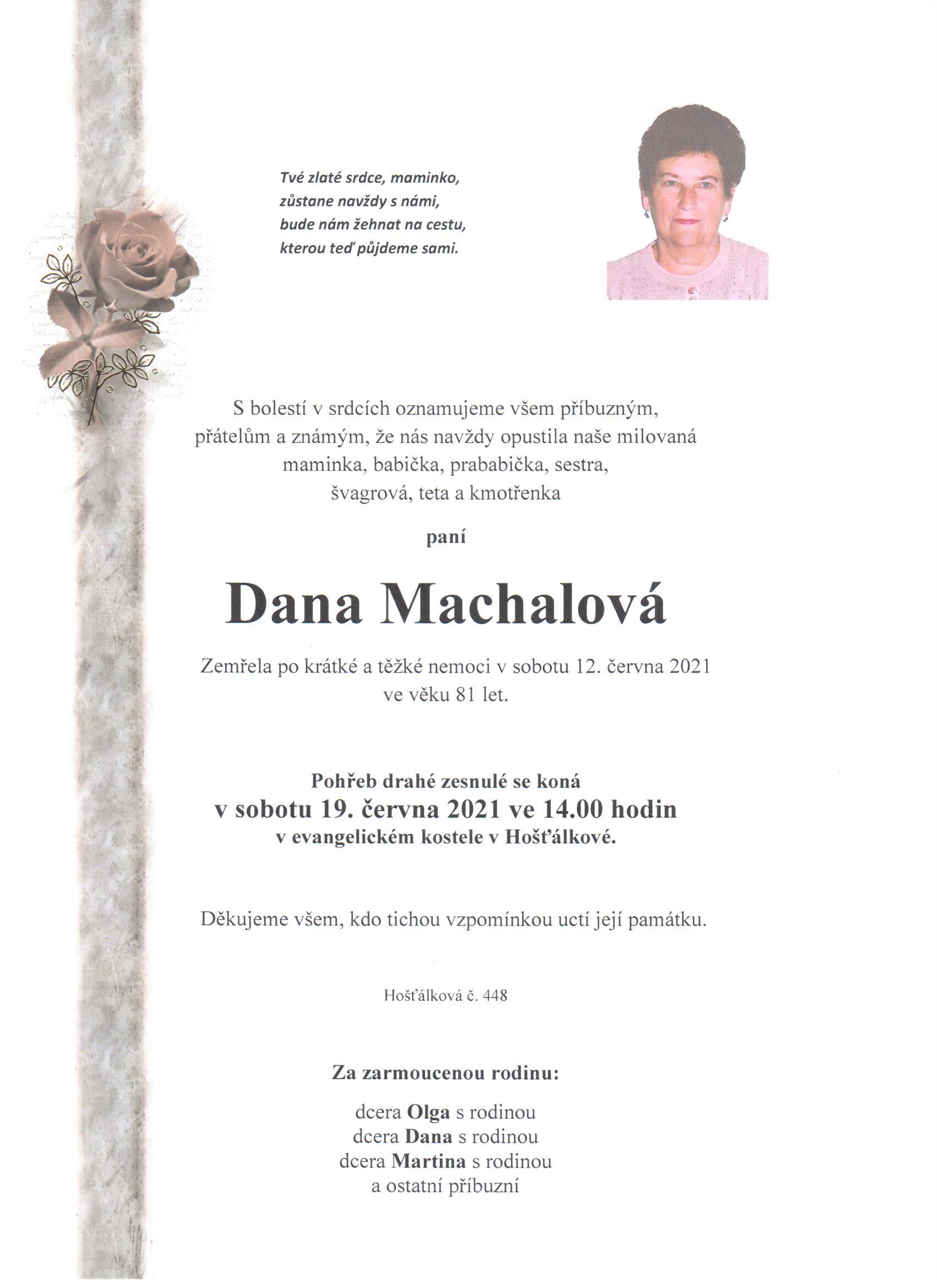 Dana Machalová
