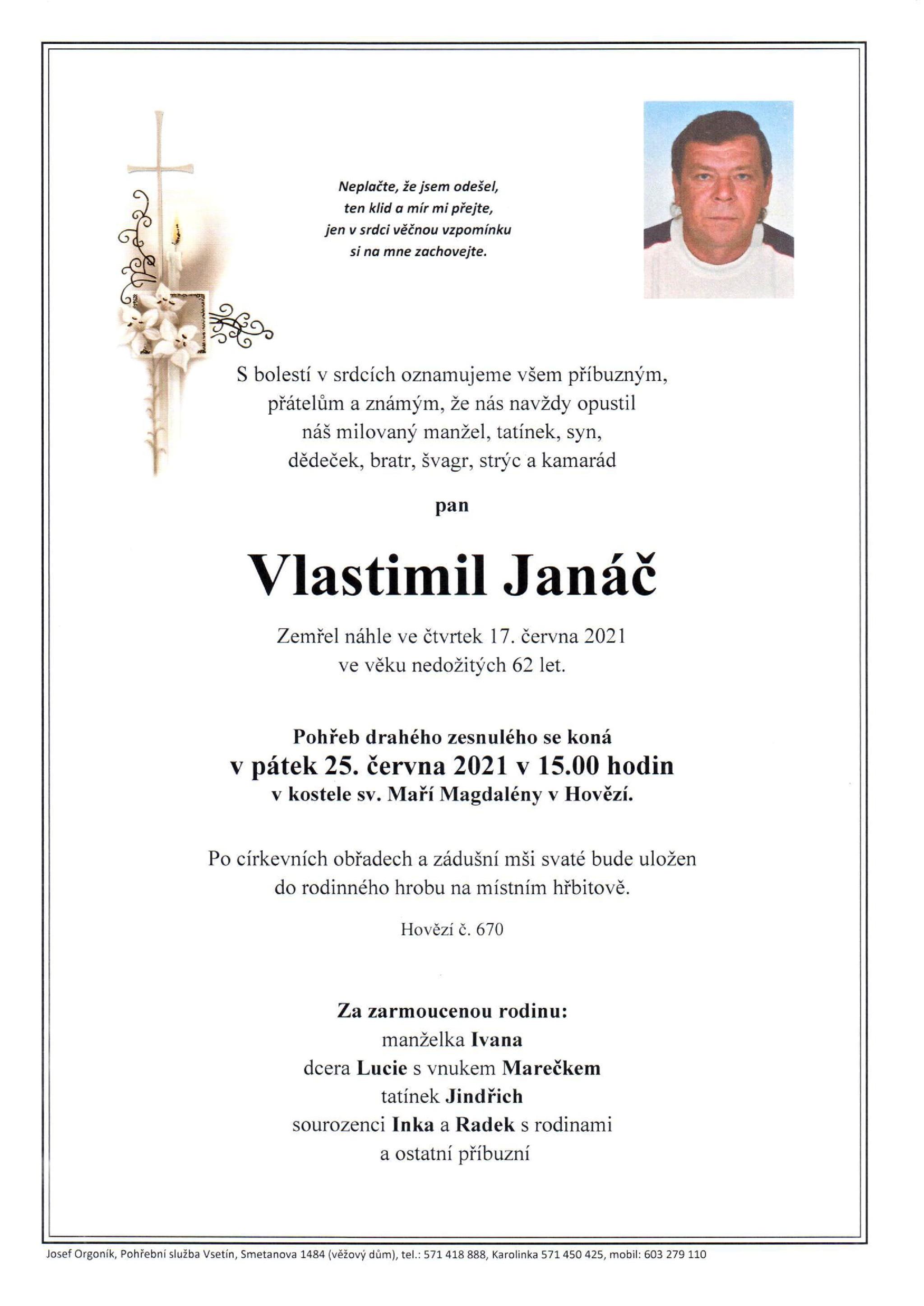 Vlastimil Janáč