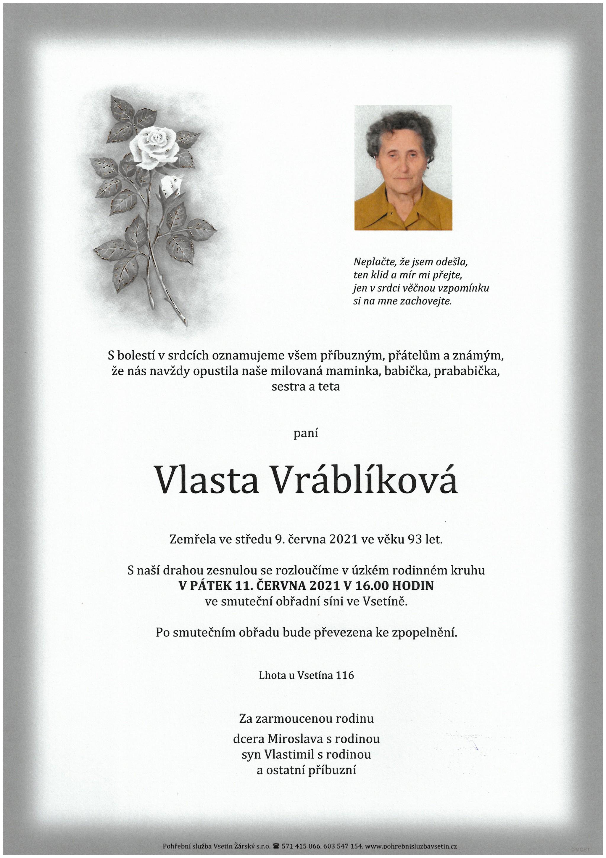 Vlasta Vráblíková