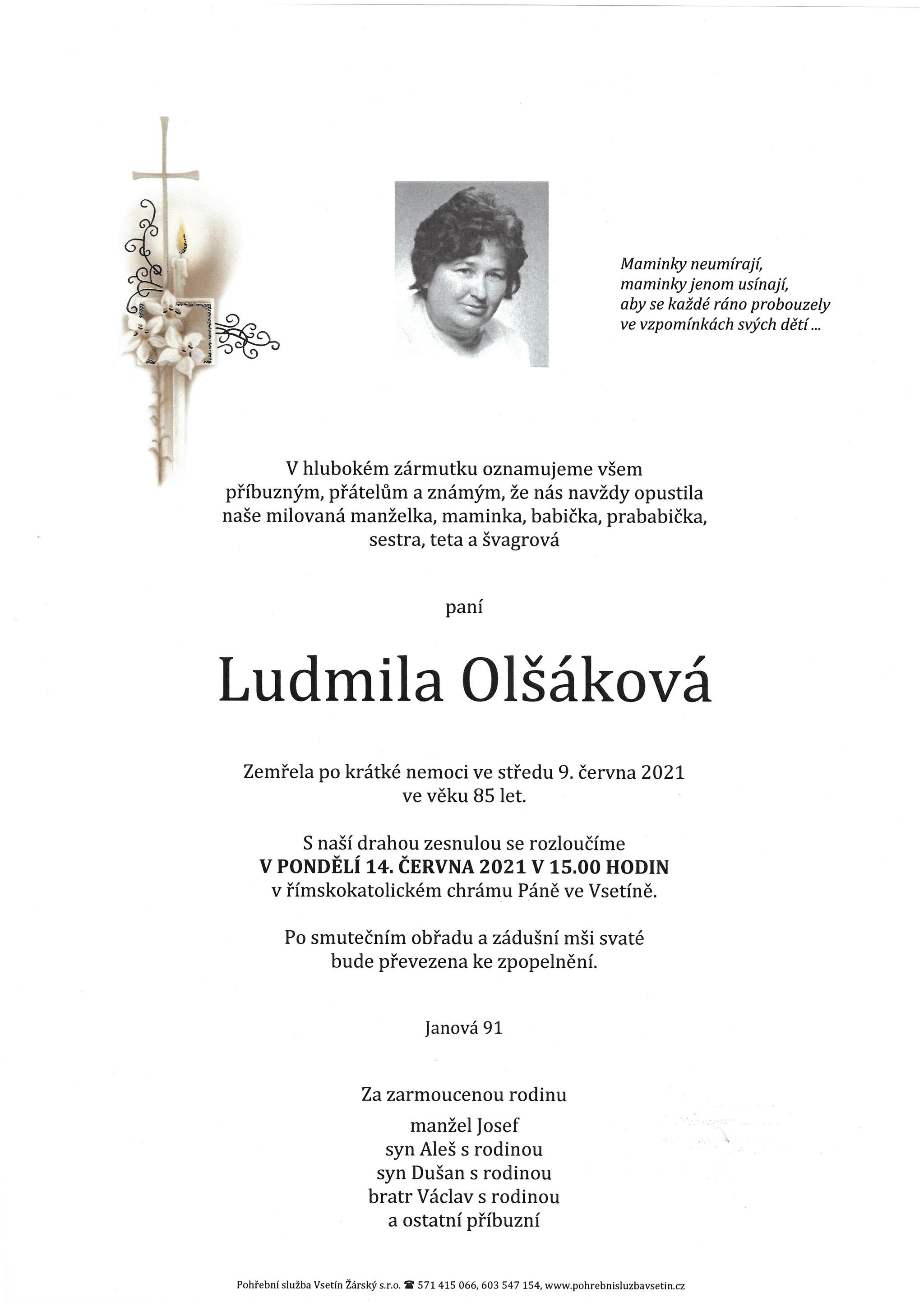 Ludmila Olšáková