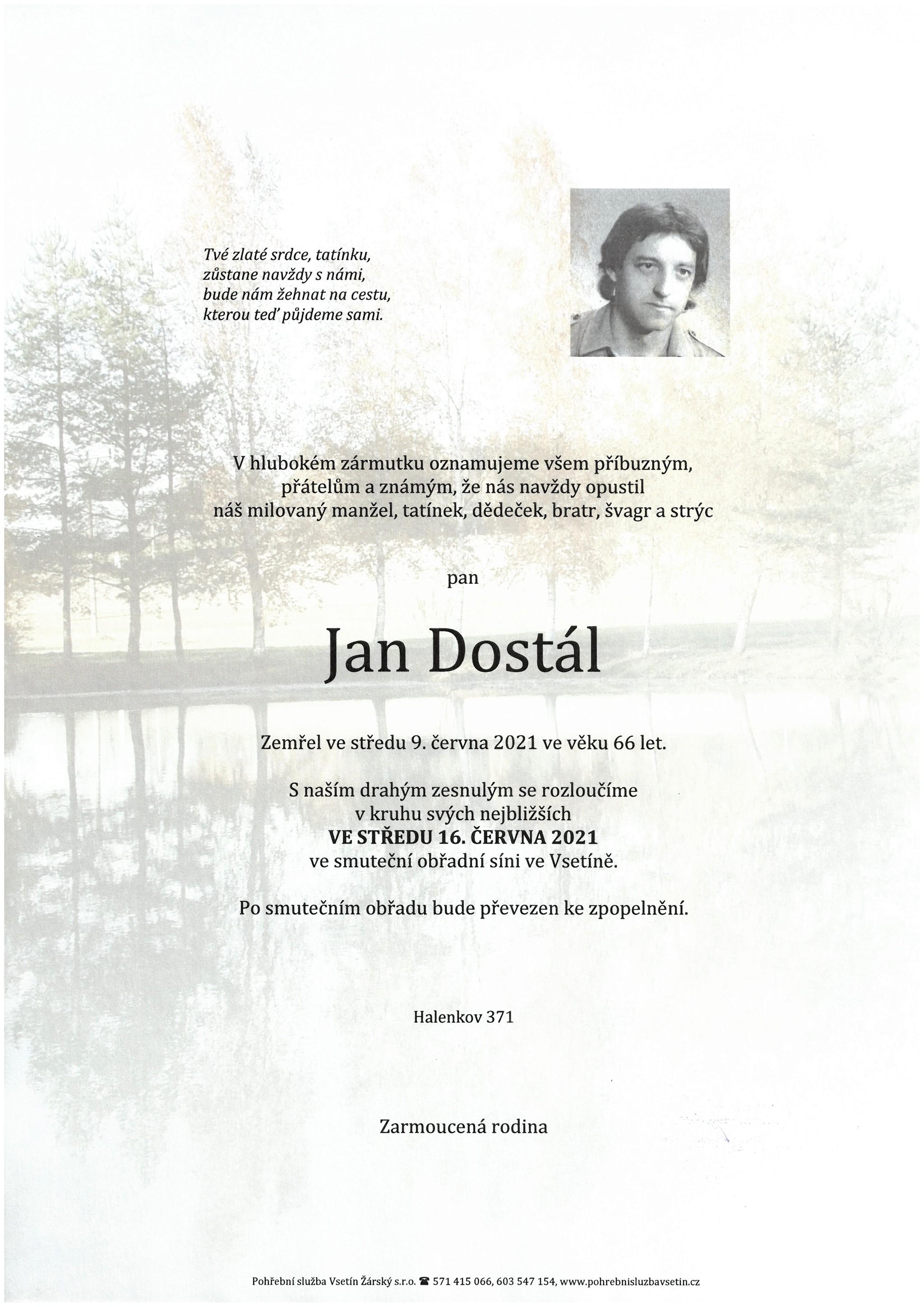 Jan Dostál
