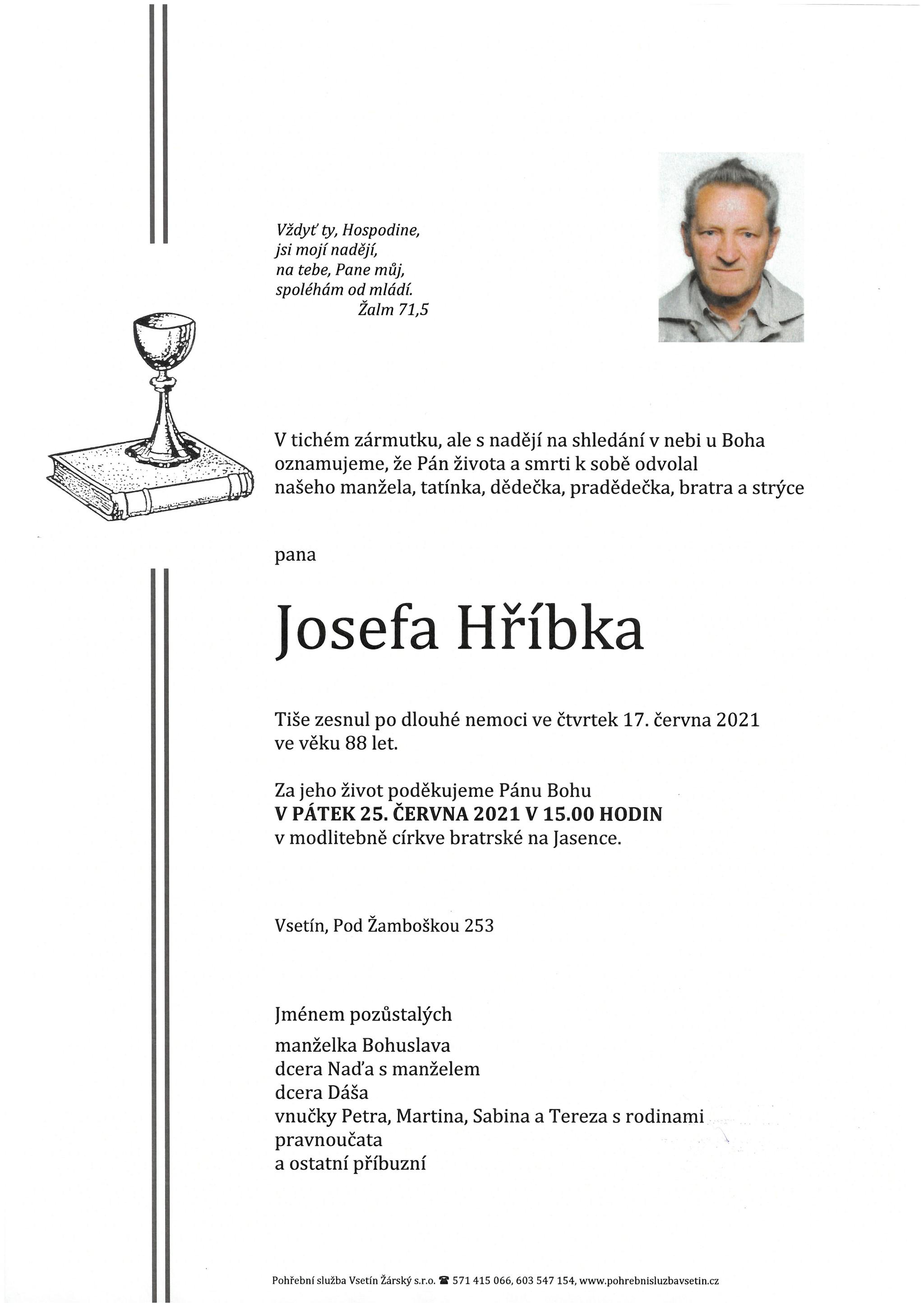 Josef Hříbek