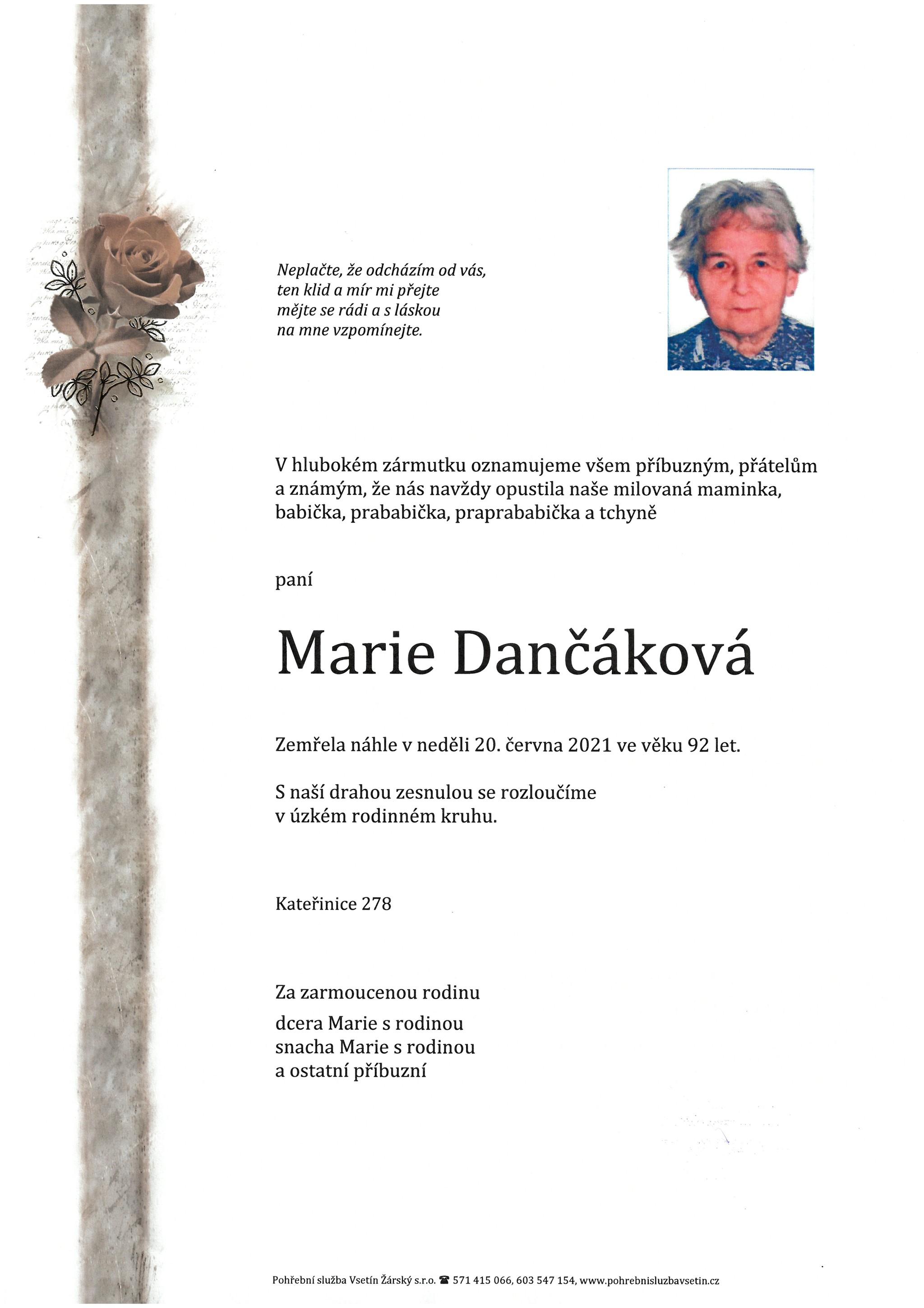 Marie Dančáková