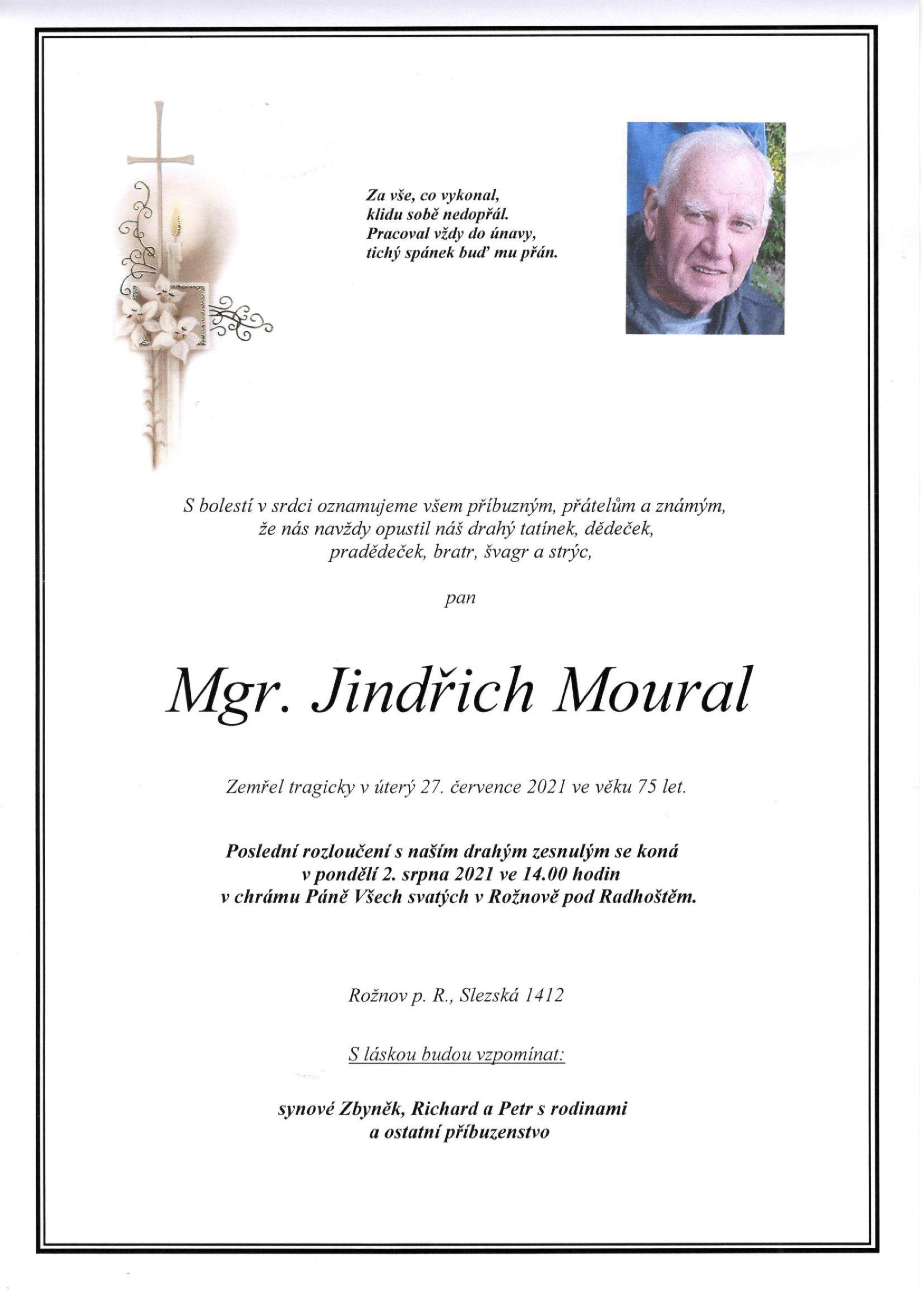 Mgr. Jindřich Moural
