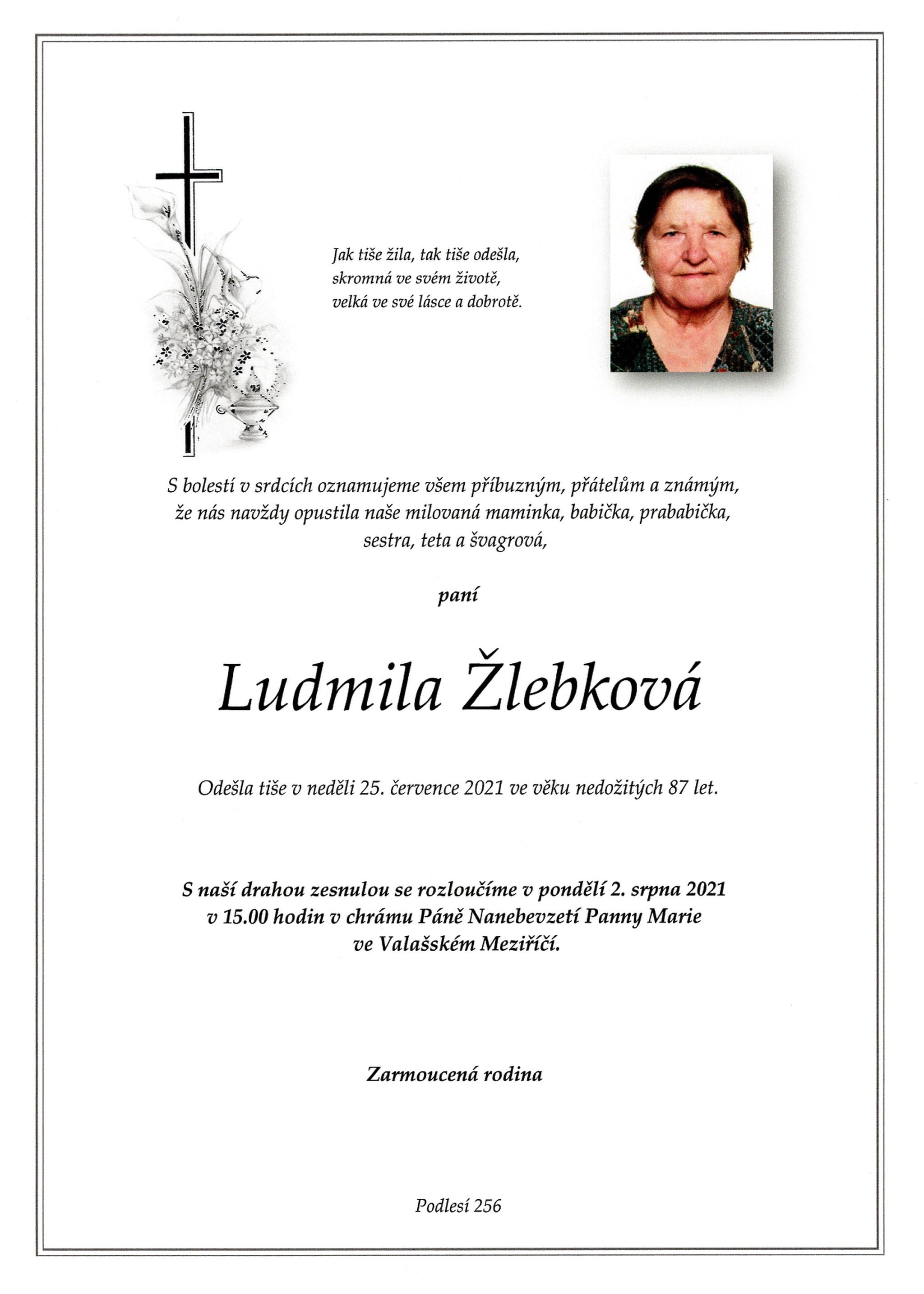 Ludmila Žlebková