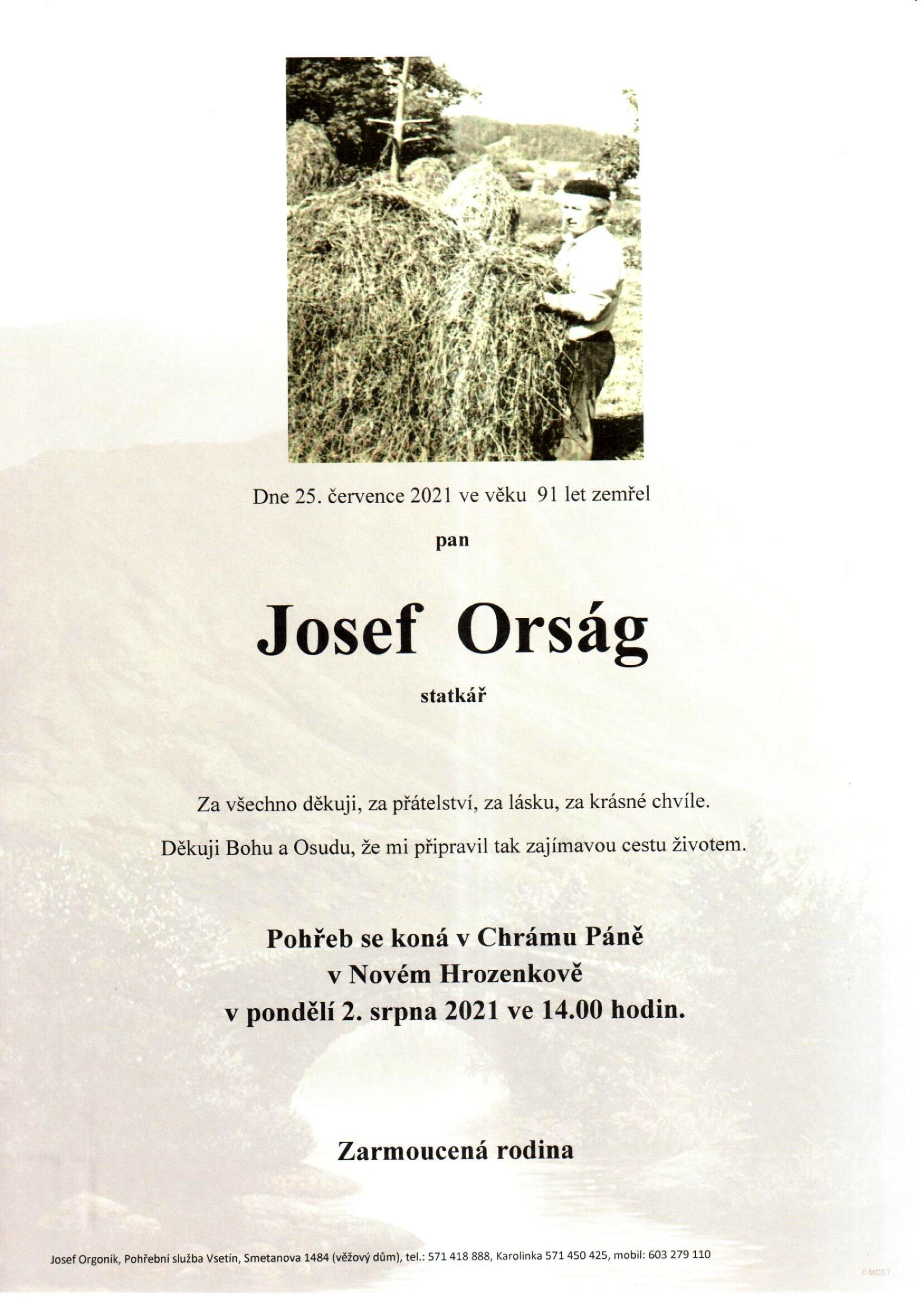 Josef Orság