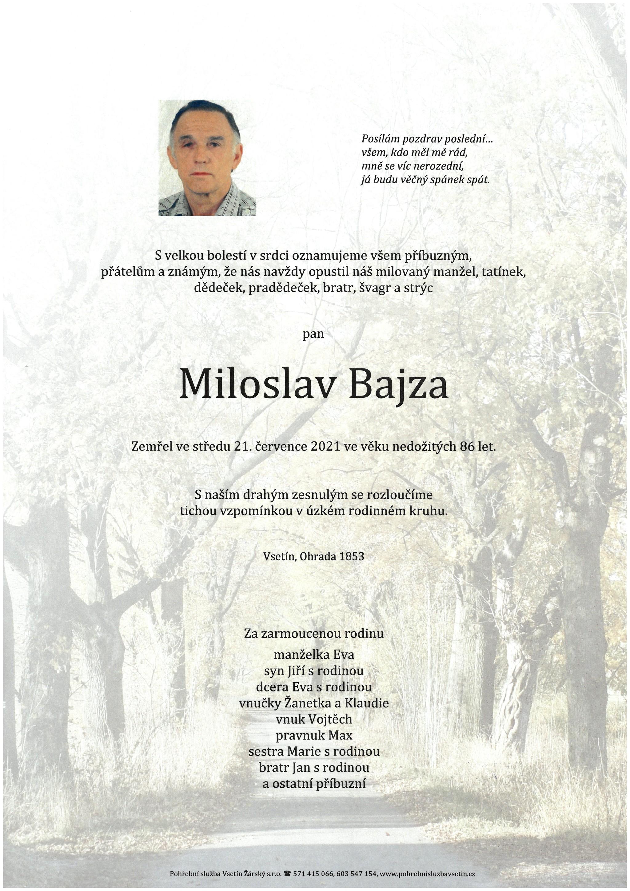 Miloslav Bajza