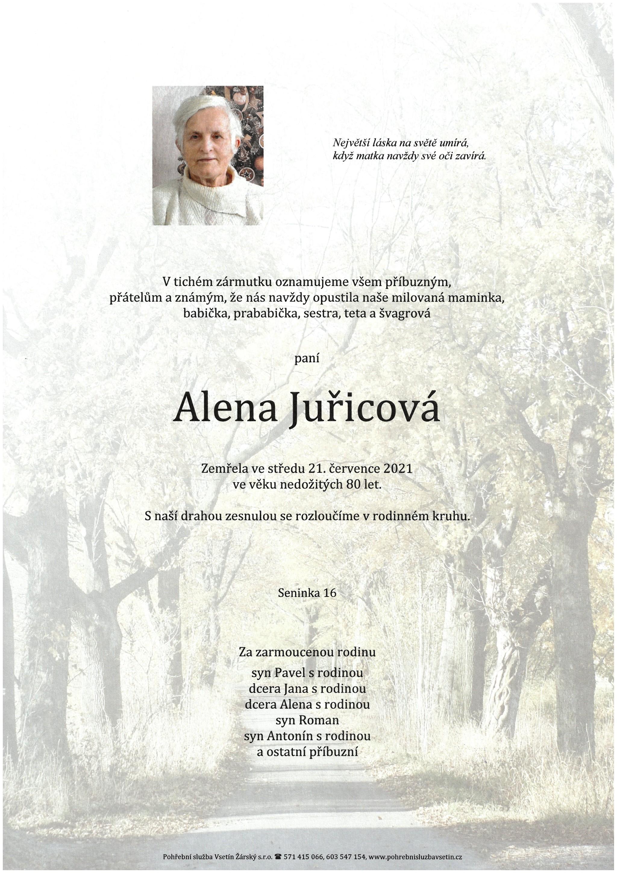 Alena Juřicová