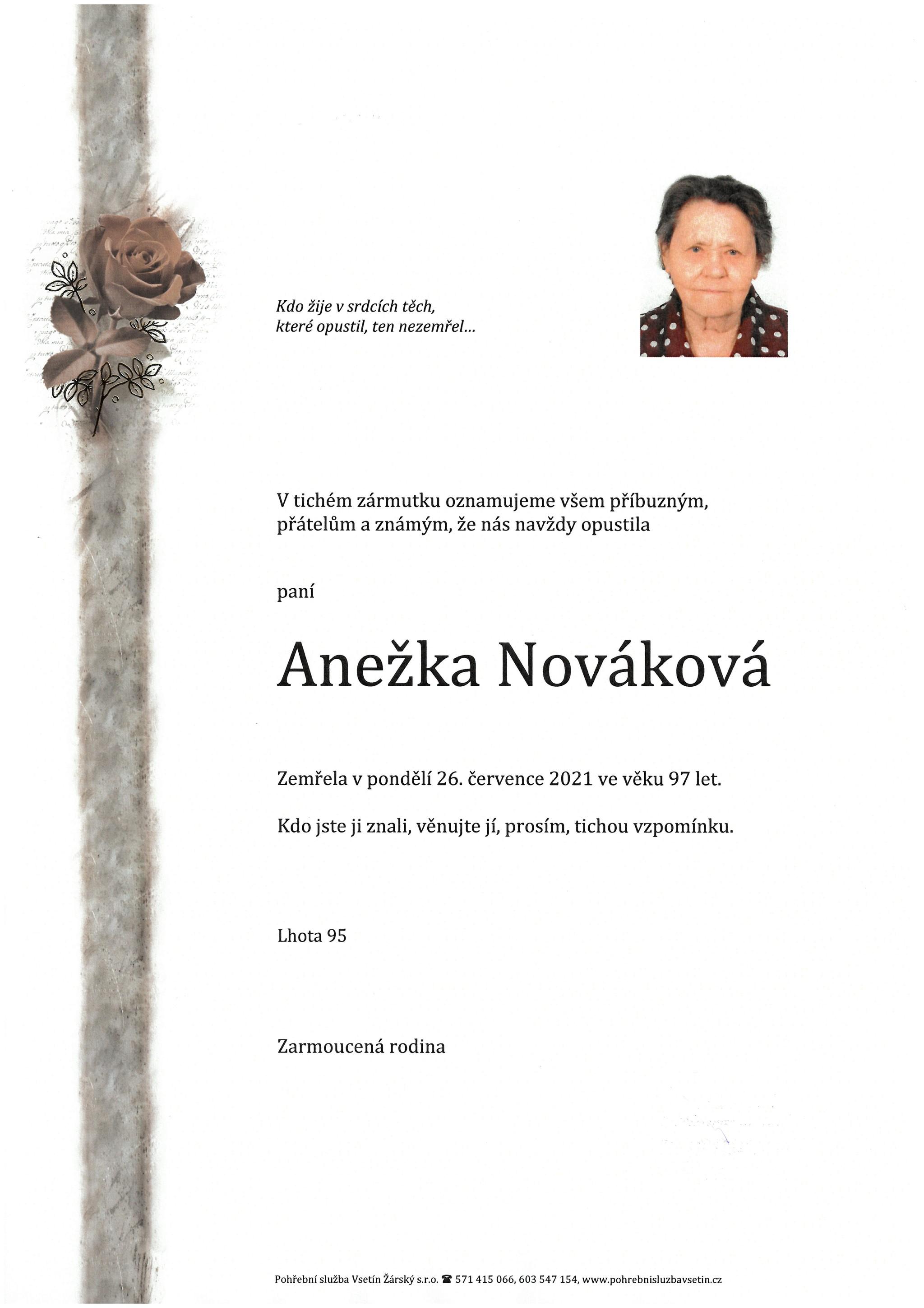 Anežka Nováková